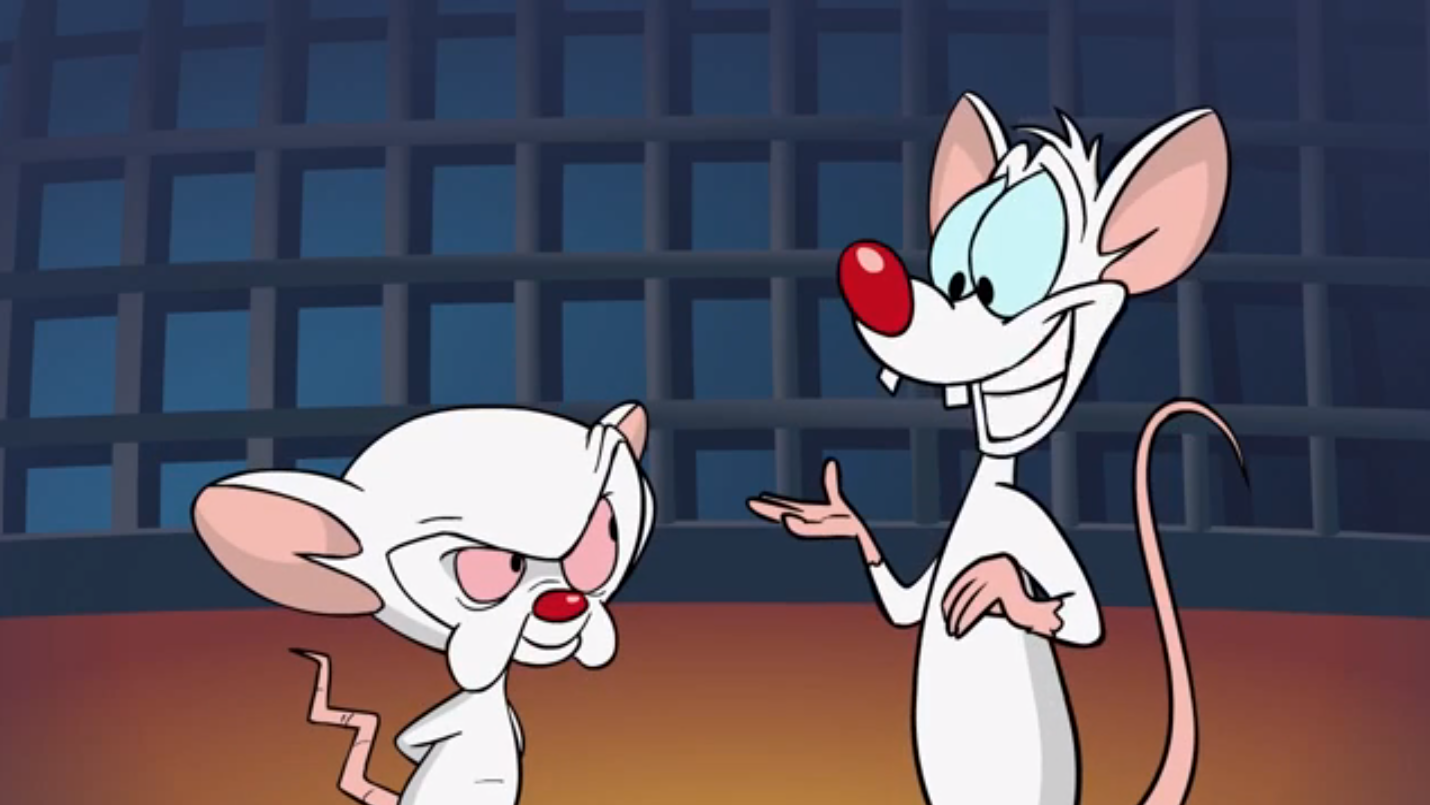 Pinky and the Brain return, and it's incredibly unsafe for work