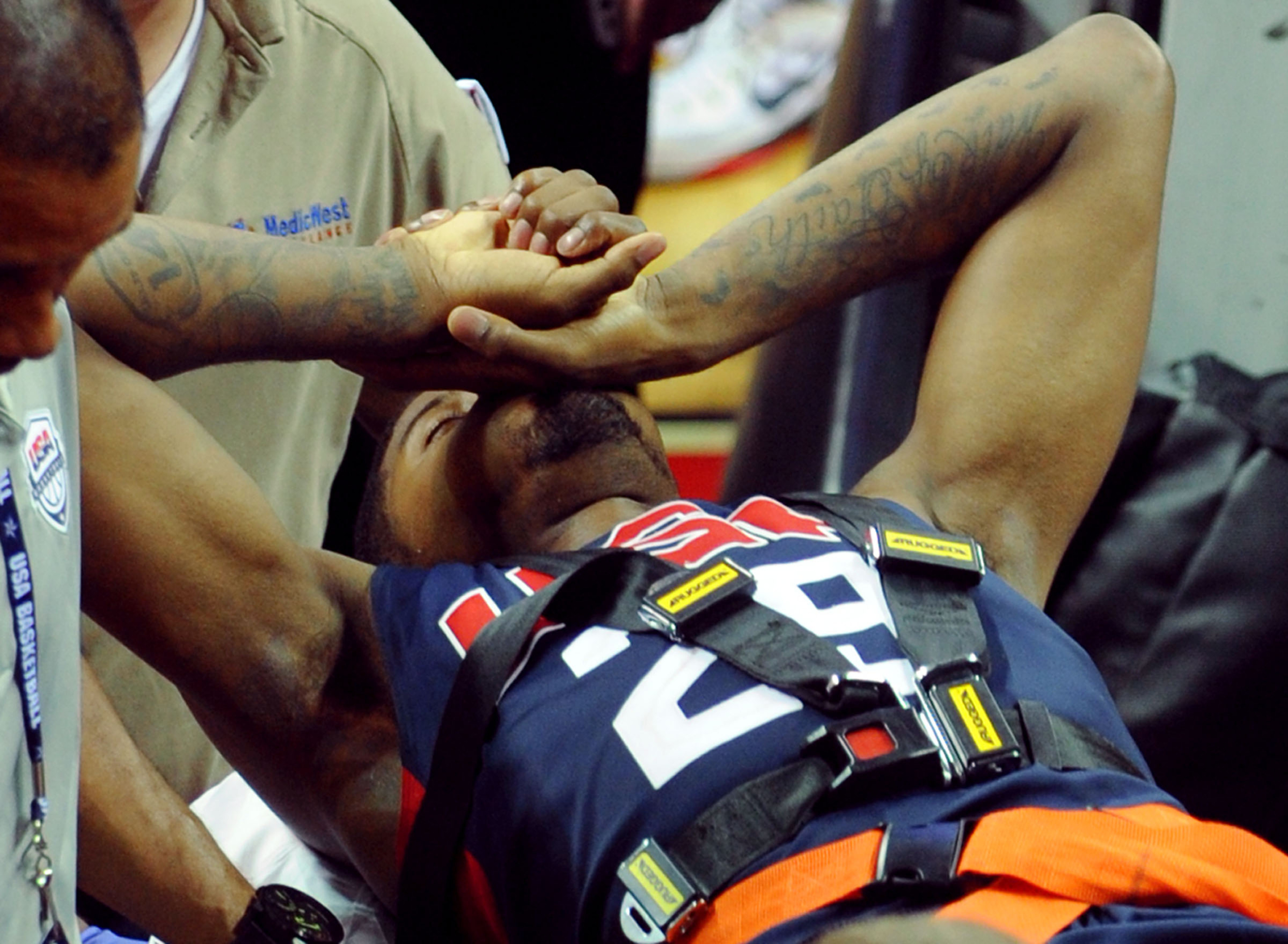 Paul George expected to miss 2014-15 NBA season after Team USA leg injury
