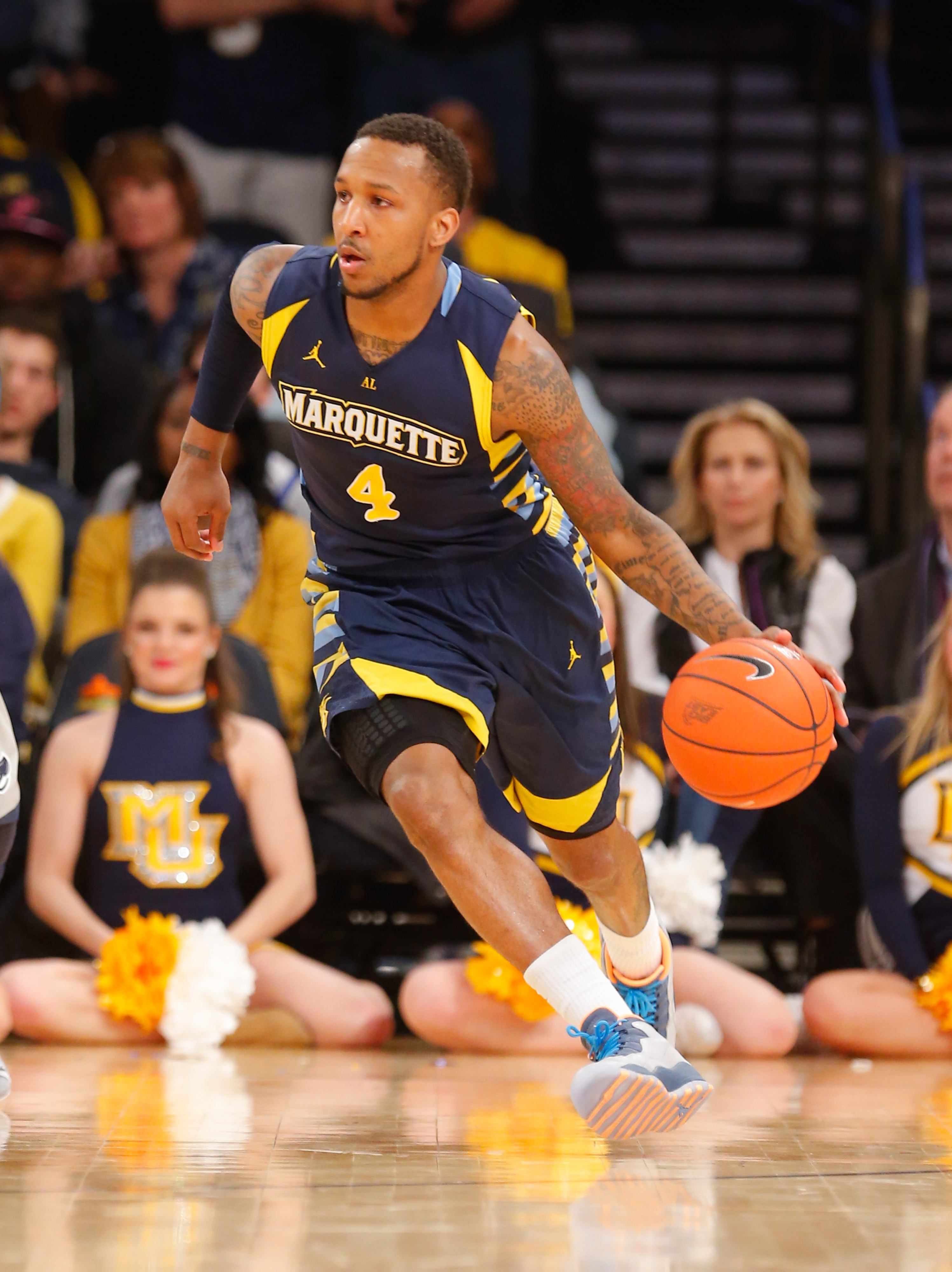 Marquette guard Todd Mayo (11.3 ppg) has left the team to pursue professional opportunities.