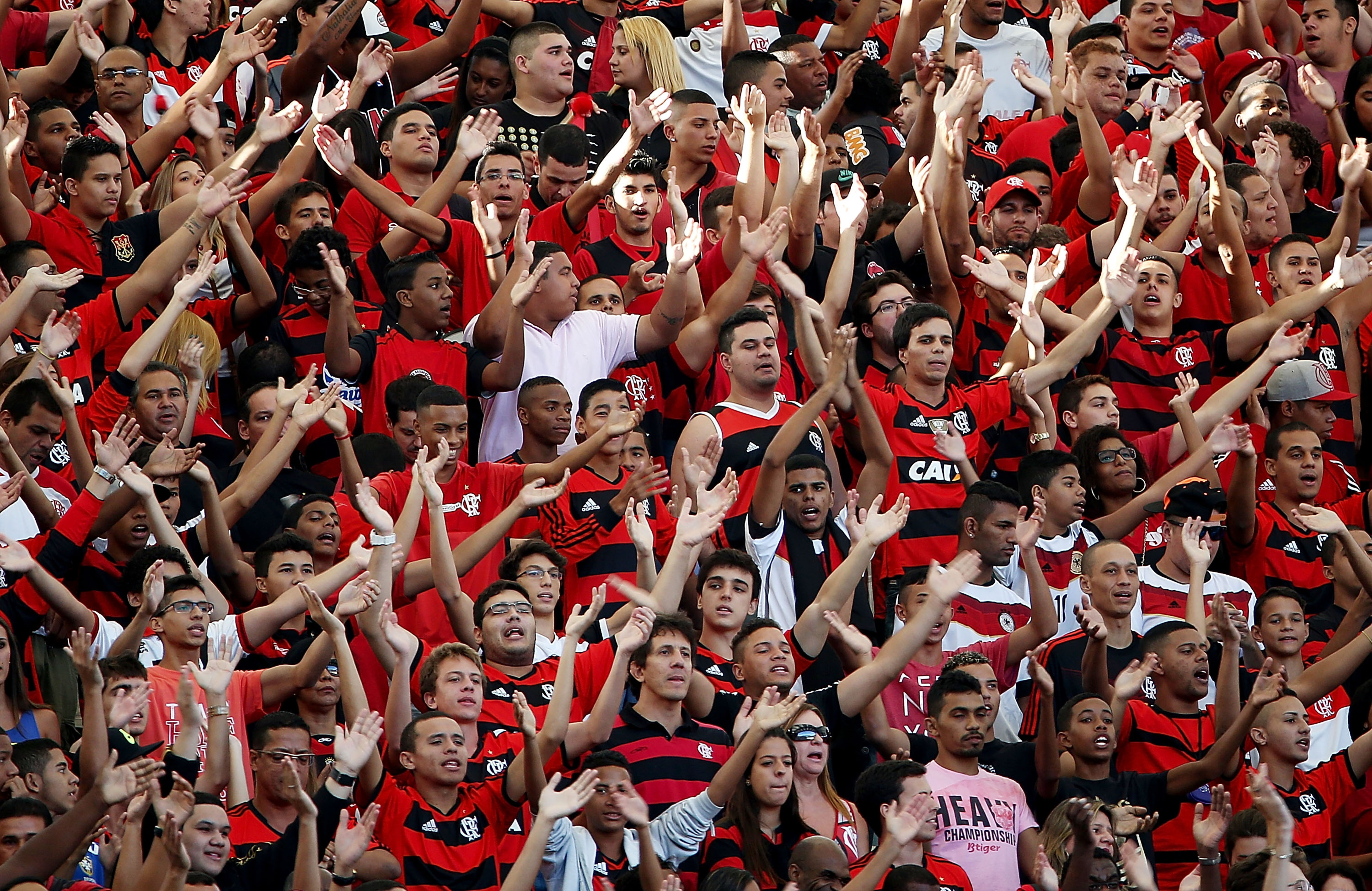 Flamengo has a rabid fan base.