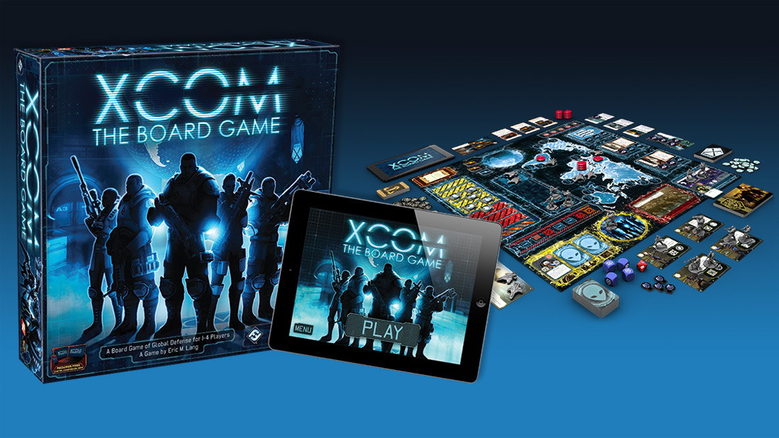 XCOM: Enemy Unknown board game announced, playable next week