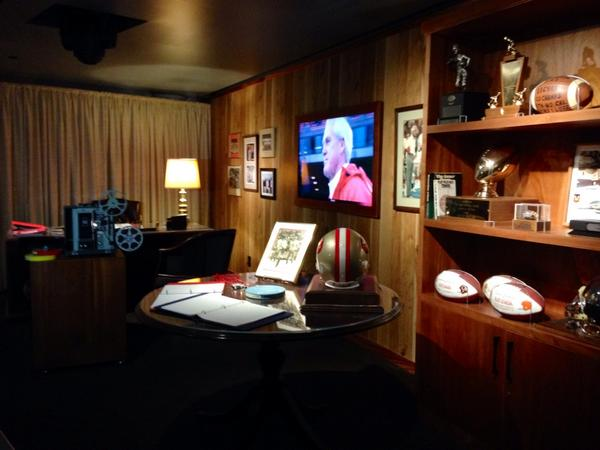 A re-creation of Bill Walsh's Redwood City office