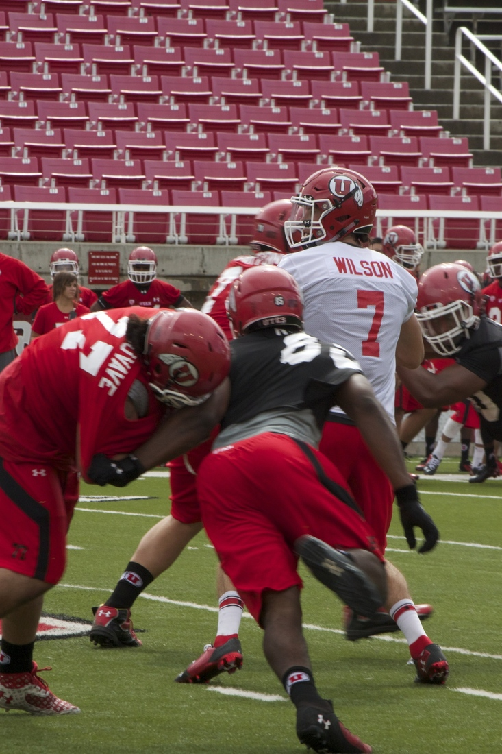 Travis Wilson is separating himself from the other QBs through two days of fall camp.