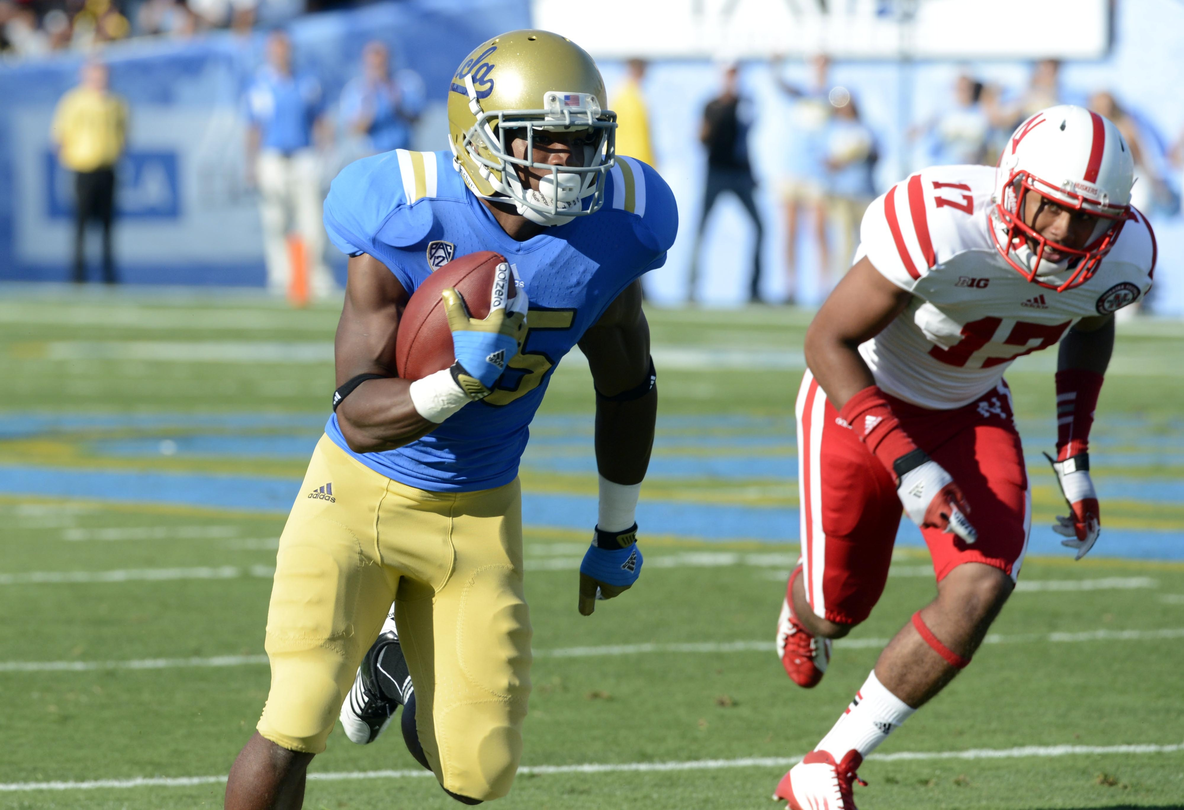 Devin Lucien is stepping into a leadership role with the Bruin receivers.