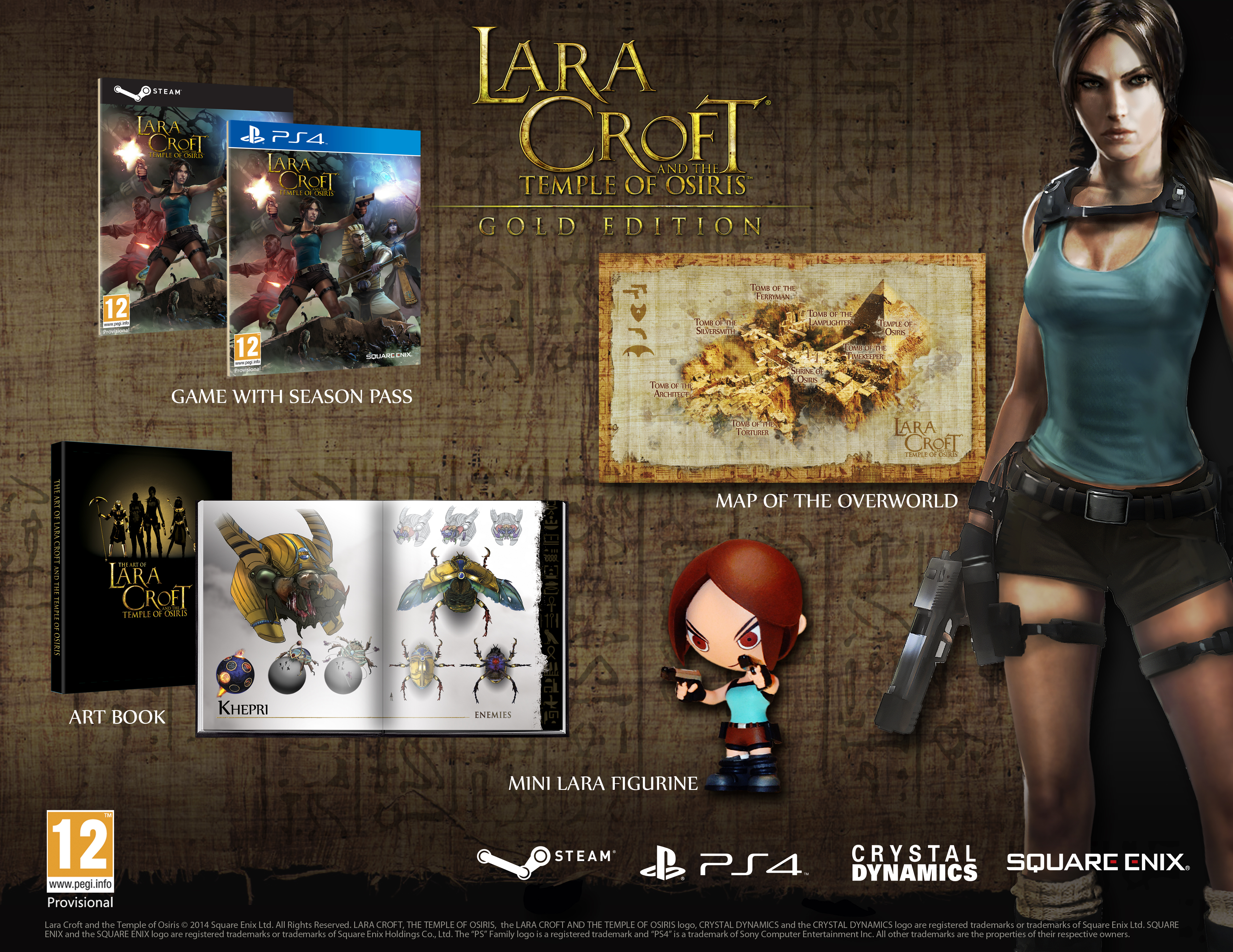 Get all your Lara Croft and The Temple of Osiris pre-order and Season Pass details here