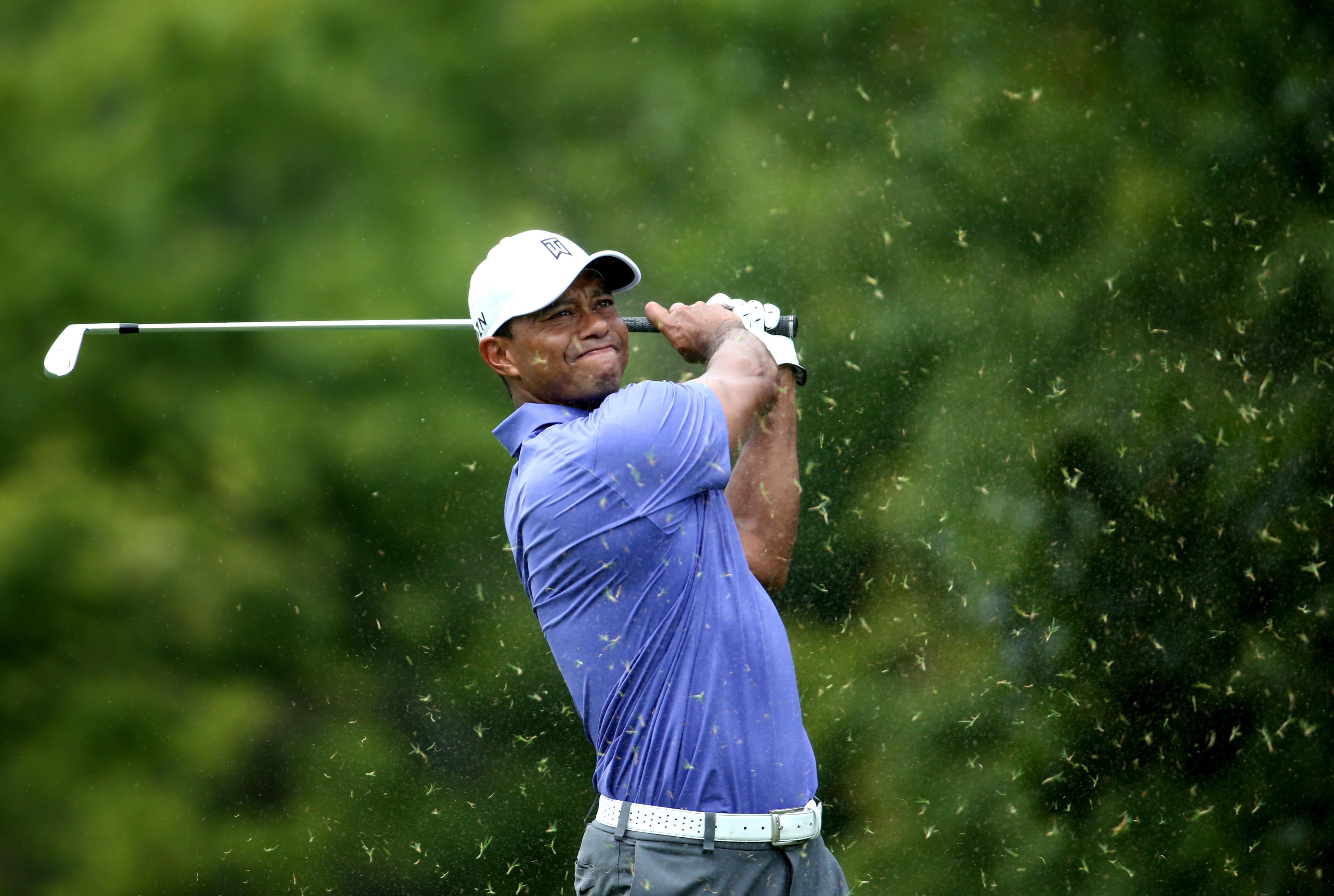 PGA Championship 2014 projected cut: Tiger Woods, Adam Scott near the cut line