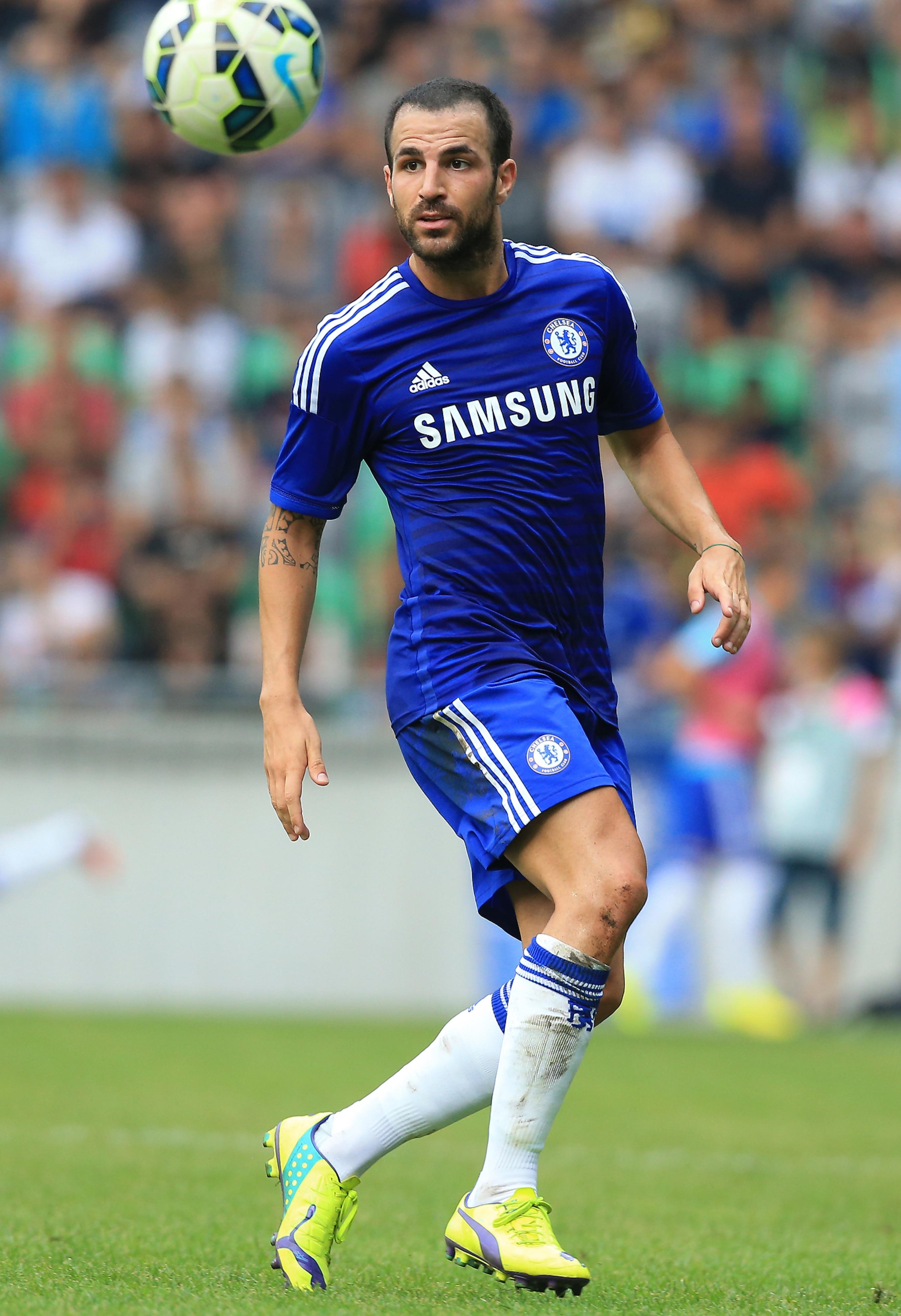 Spanish midfielder Cesc Fabregas has swapped Barcelona for Chelsea