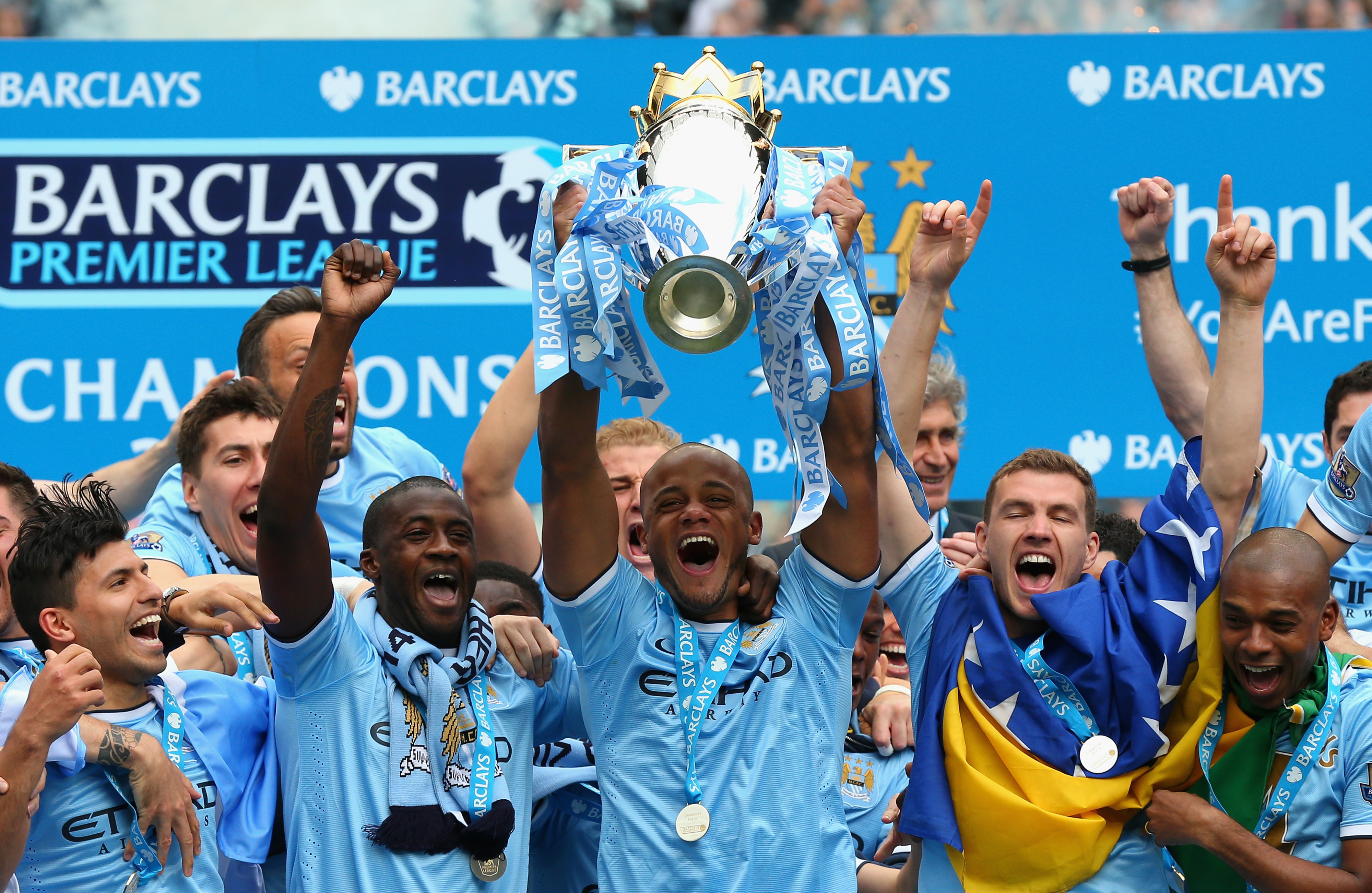 Man City will hope for a repeat of last year's title triumph