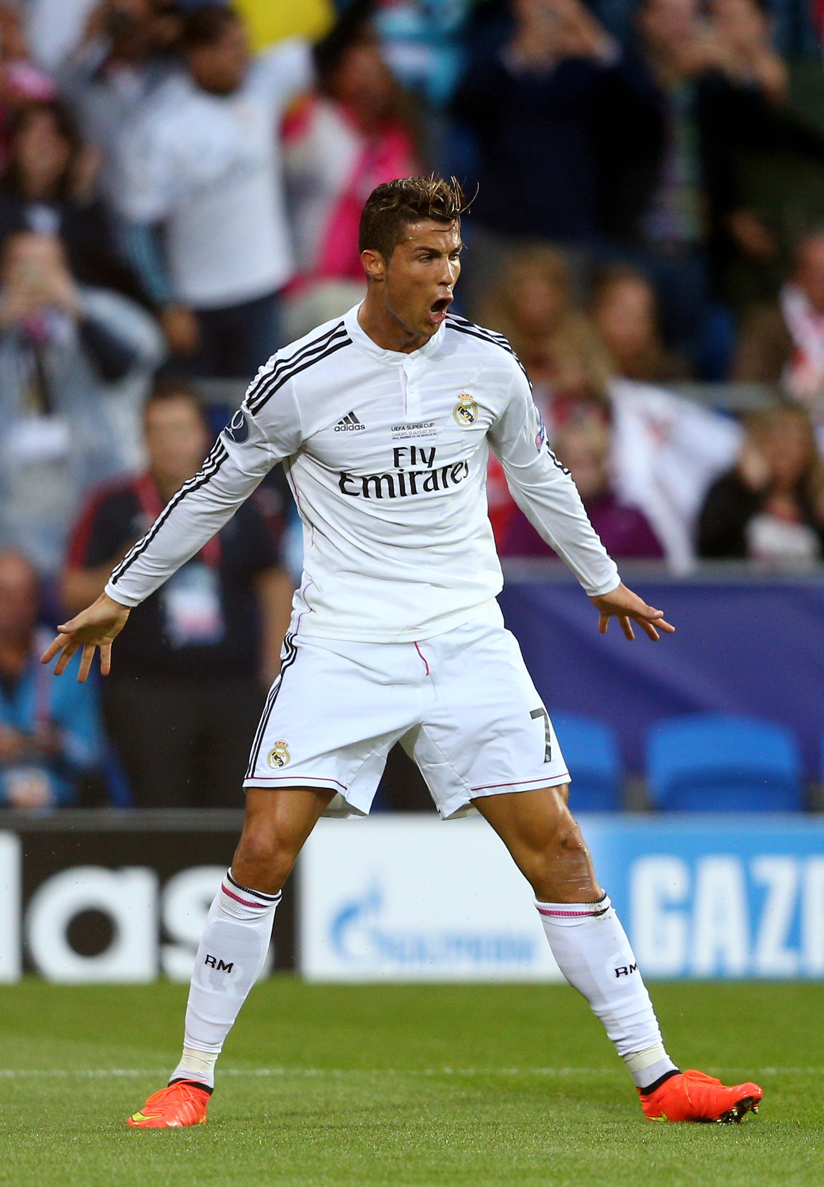 Real Madrid vs. Sevilla, 2014 UEFA Super Cup: Final score 2-0, Ronaldo's brace leads Los Blancos over Sevilla