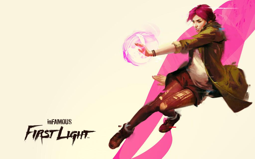 How did the dev of Infamous: First Light create a strong lady lead? By talking to a woman