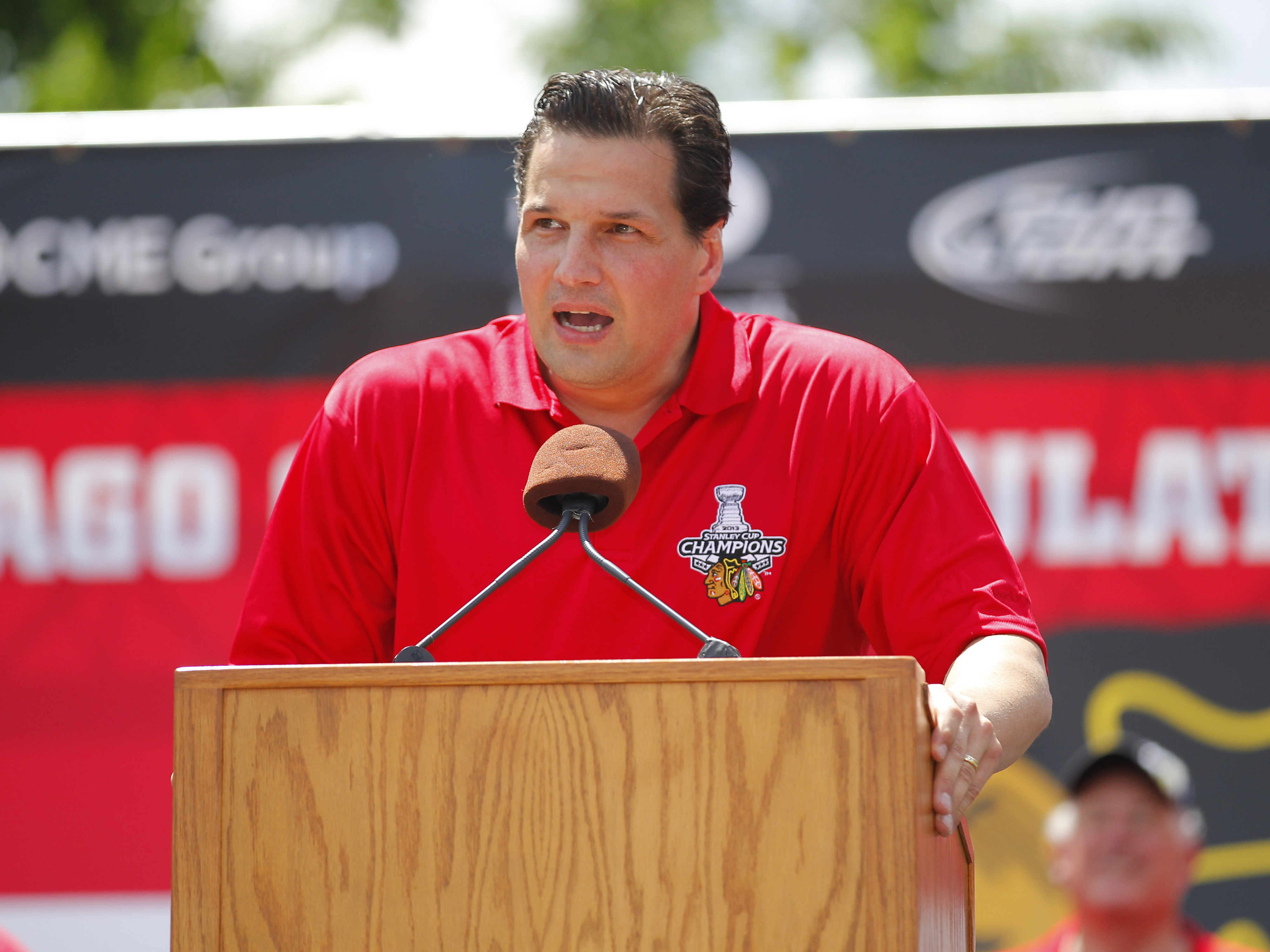 Ed Olczyk, father of Eddie Olczyk, the new assistant coach at Utica College