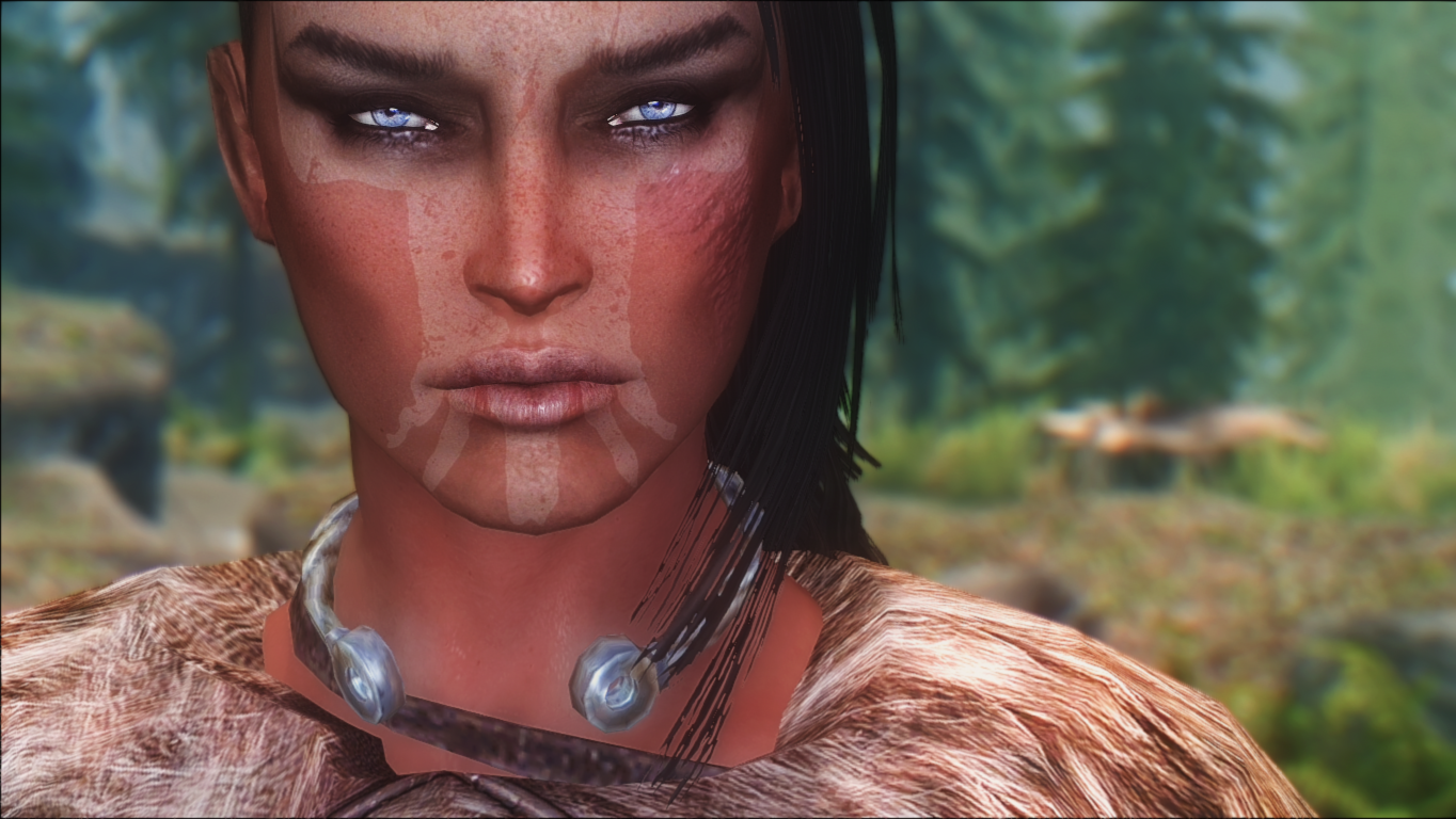These portraits from Skyrim look more like magazine covers than video games