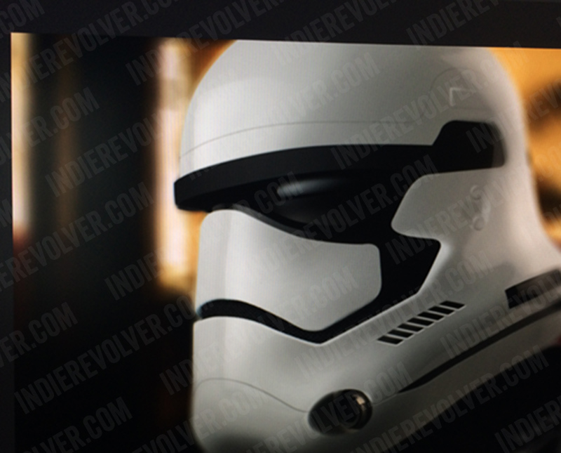 This could be the Stars Wars: Episode VII Storm Trooper helmet