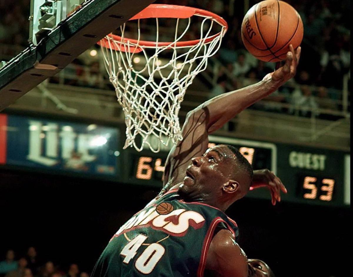 Shawn Kemp would not be denied in Game 3