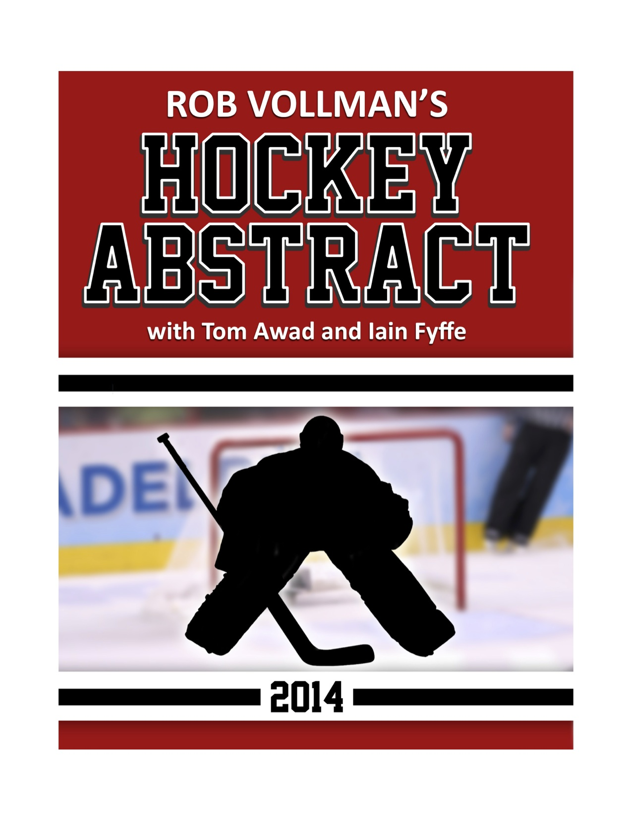 The cover of Hockey Abstract 2014 edition