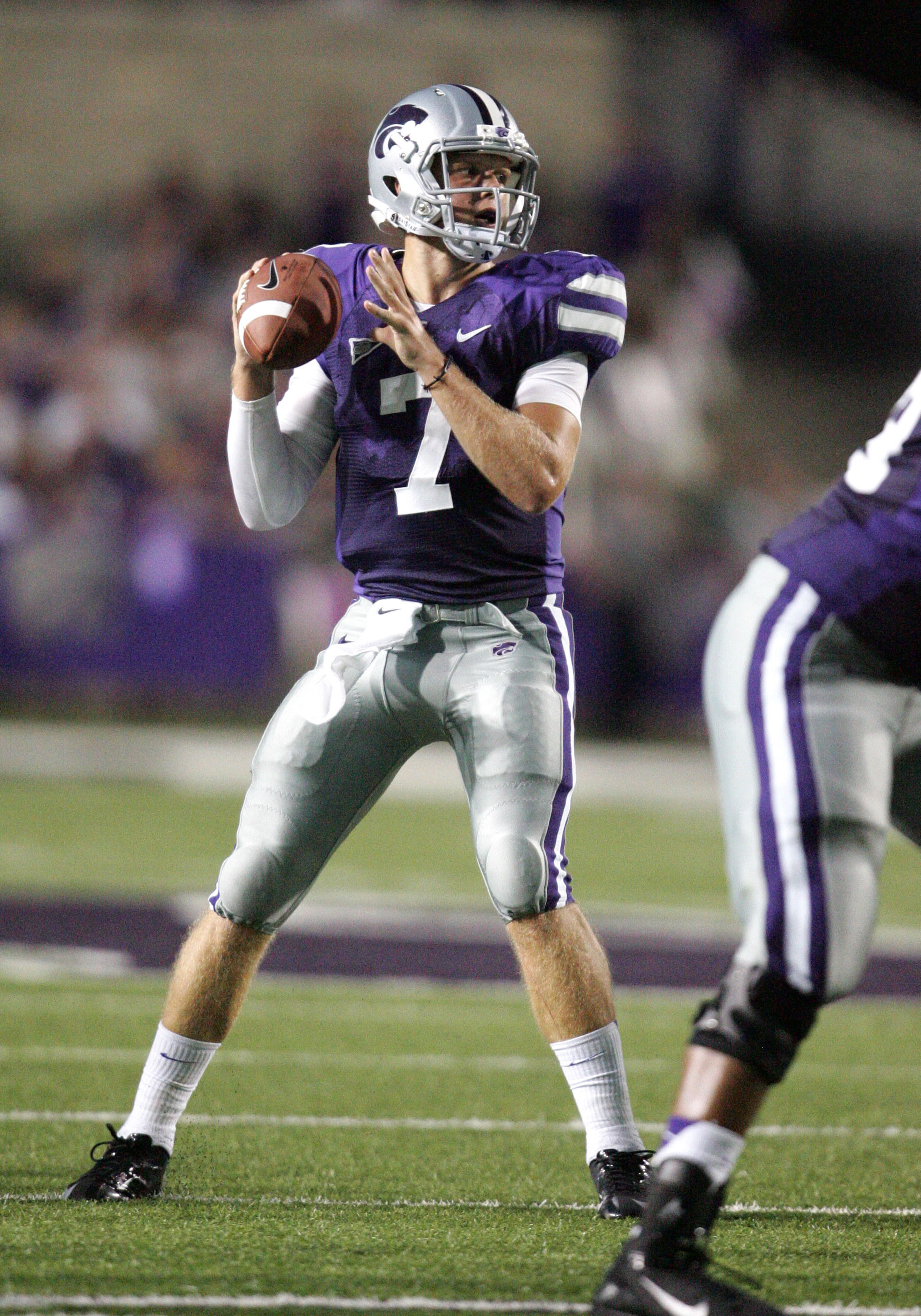 I don't believe in reincarnation, but from what little I've seen of Taylor Laird's film, he's almost like a second coming of Collin Klein.