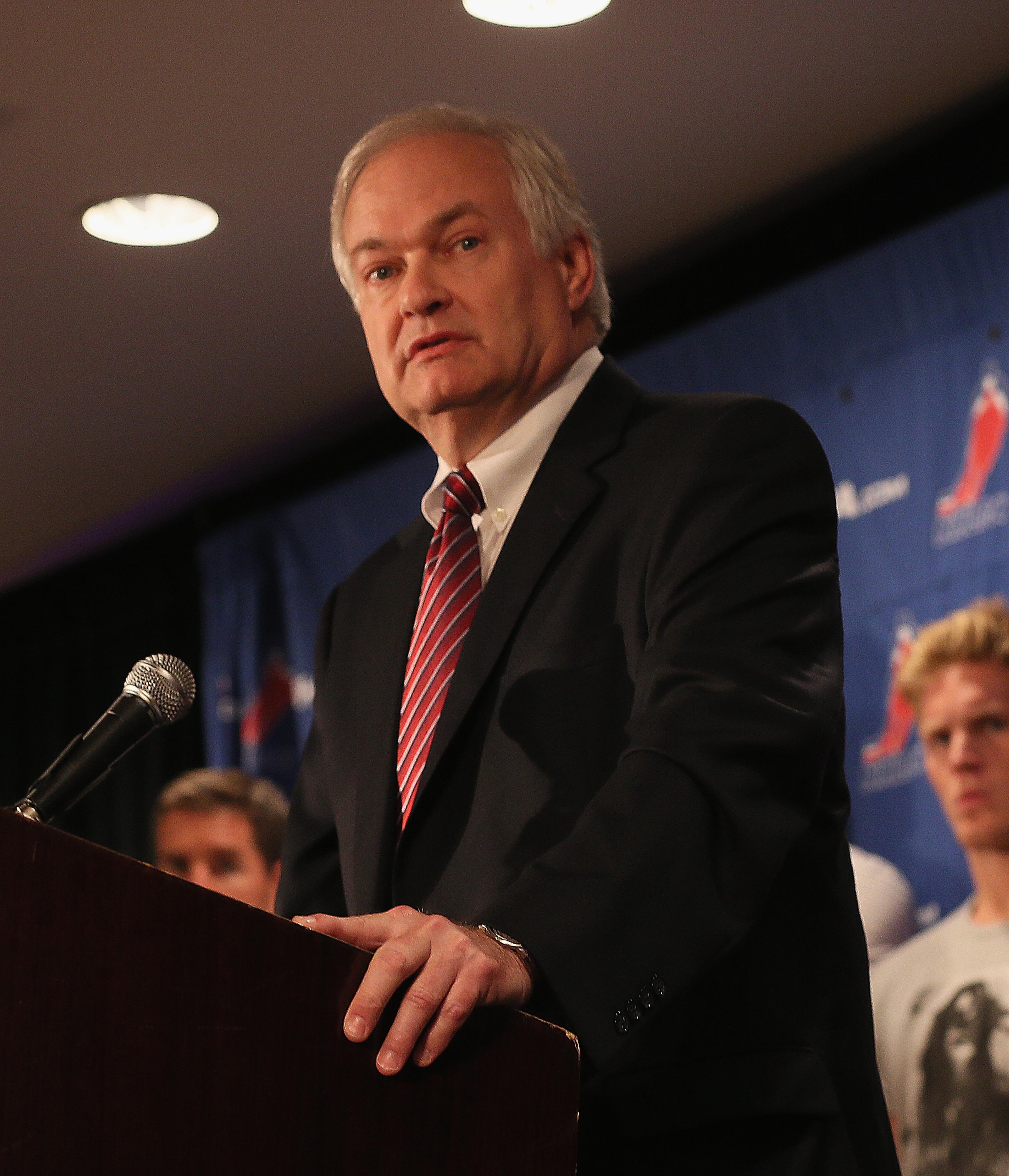 NHLPA Executive Director Don Fehr