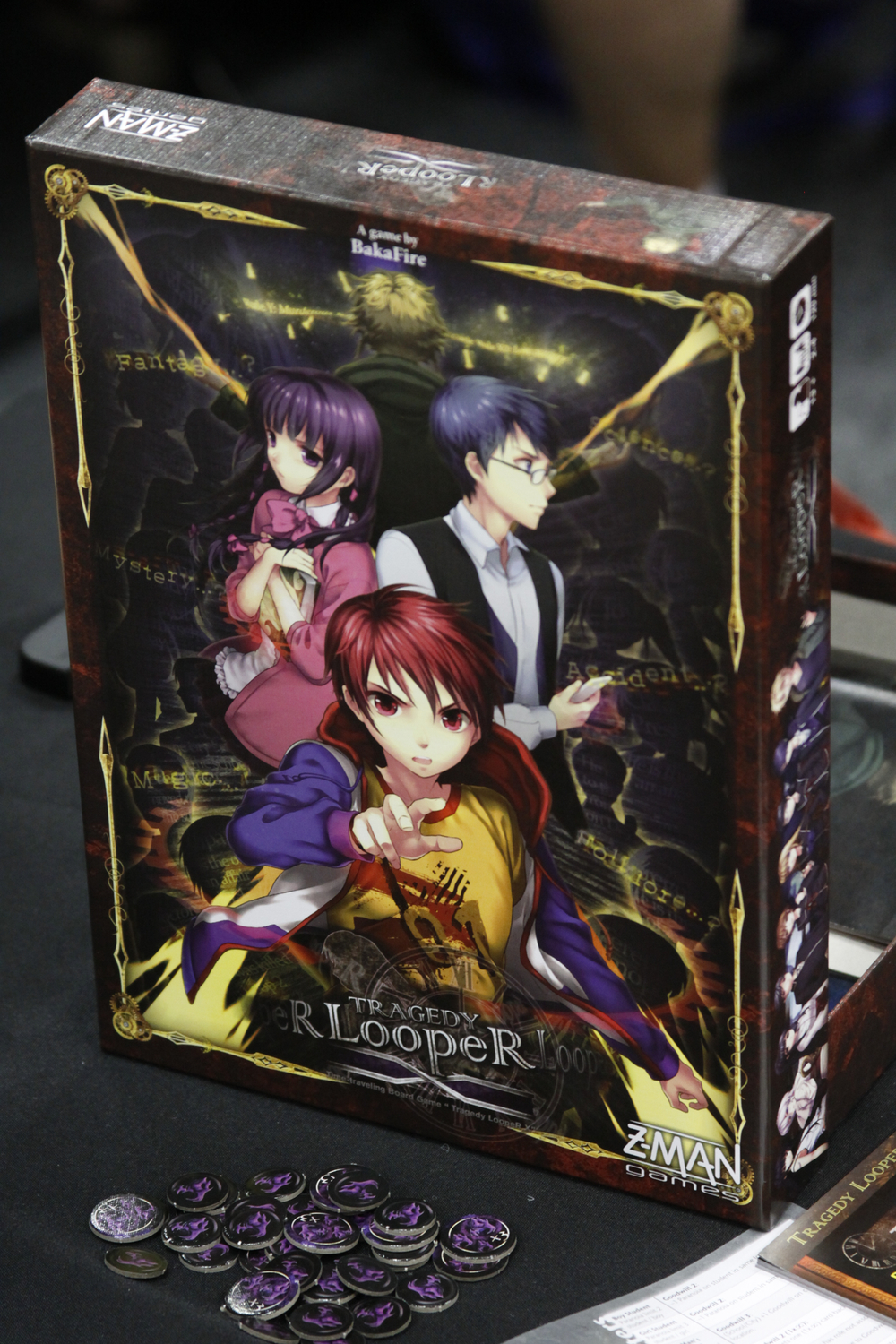 To win this board game you must become an anime character