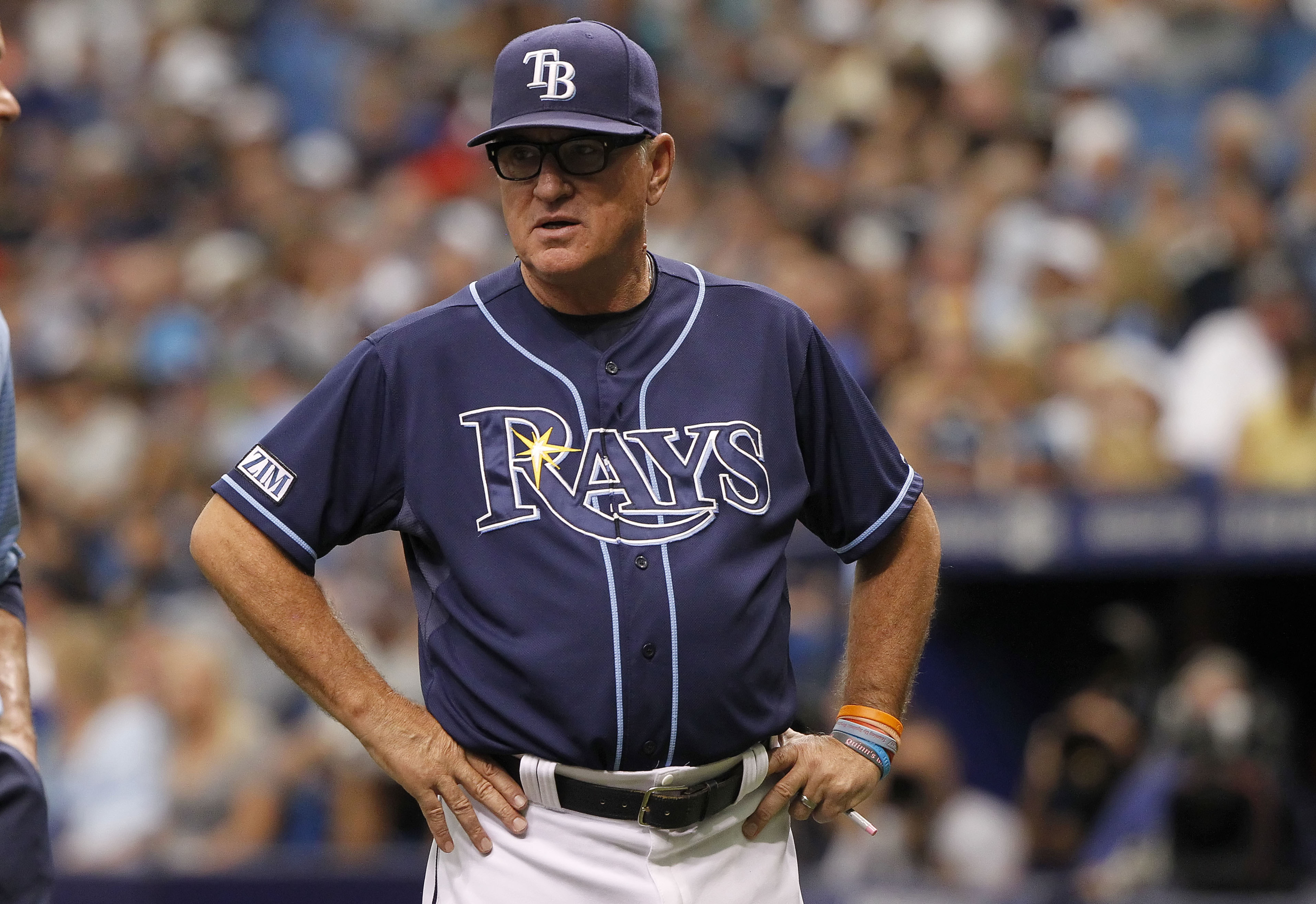 Rays protest game against Blue Jays