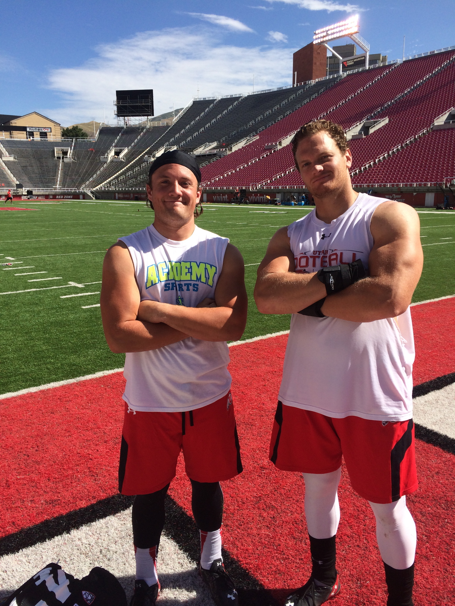 Linebackers Alex and Jason Whittingham know all about the family environment on the Utah football team, being the son and nephew of head coach Kyle.