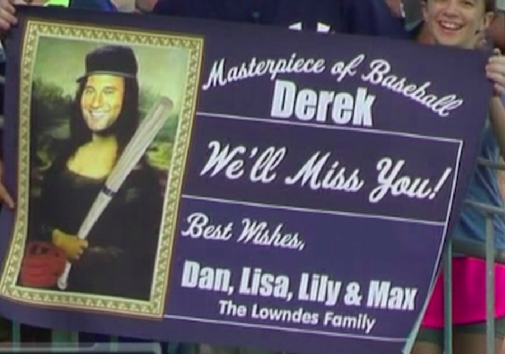 Fan puts Derek Jeter's head on the Mona Lisa, terrifies the world