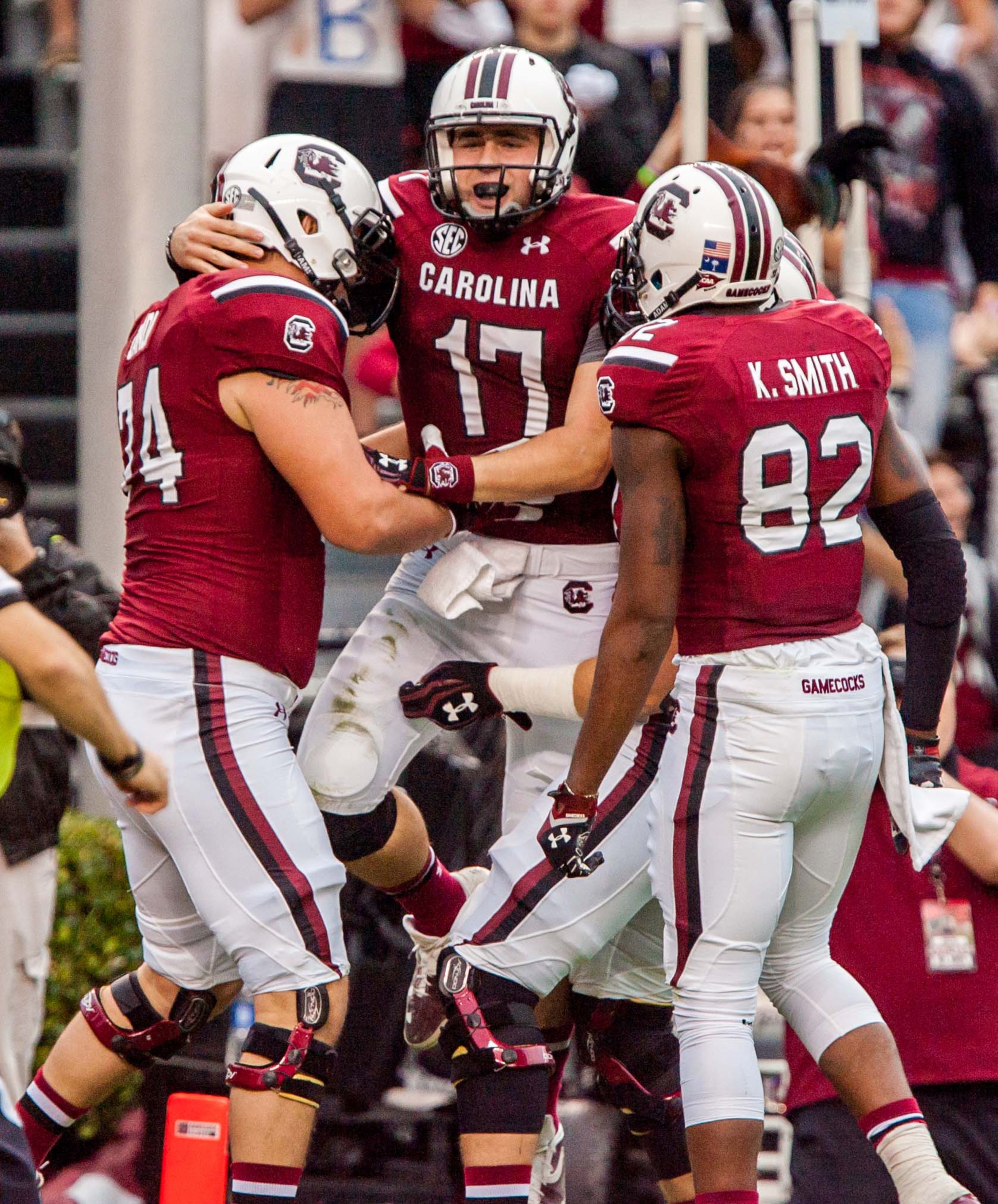 Dylan Thompson and the Gamecocks take on a challenging 2014 slate.