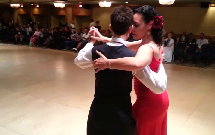 from Alonso gay ballroom dancers