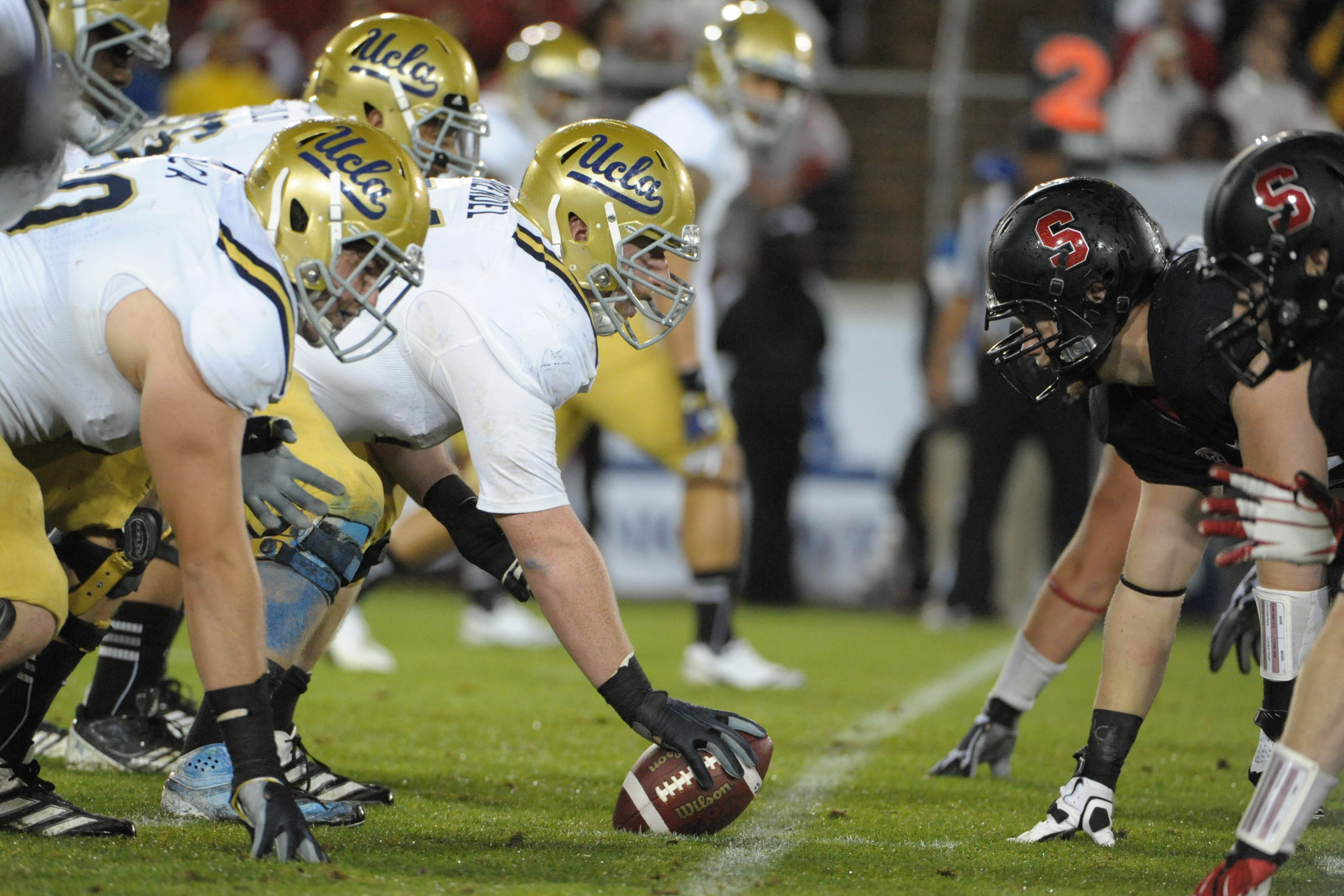 Center Jake Brendel's status for Saturday is still up in the air