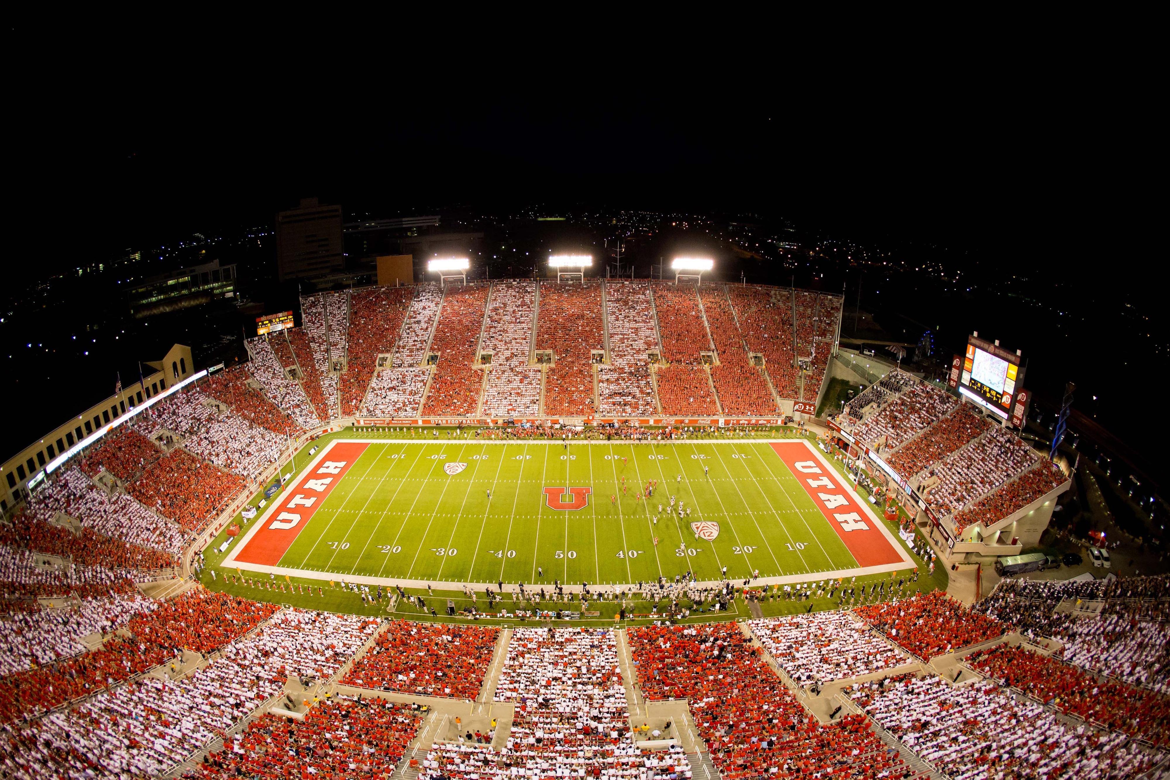 Utah kicks off 2014 with a 'Stripe the Stadium' game versus Idaho State.
