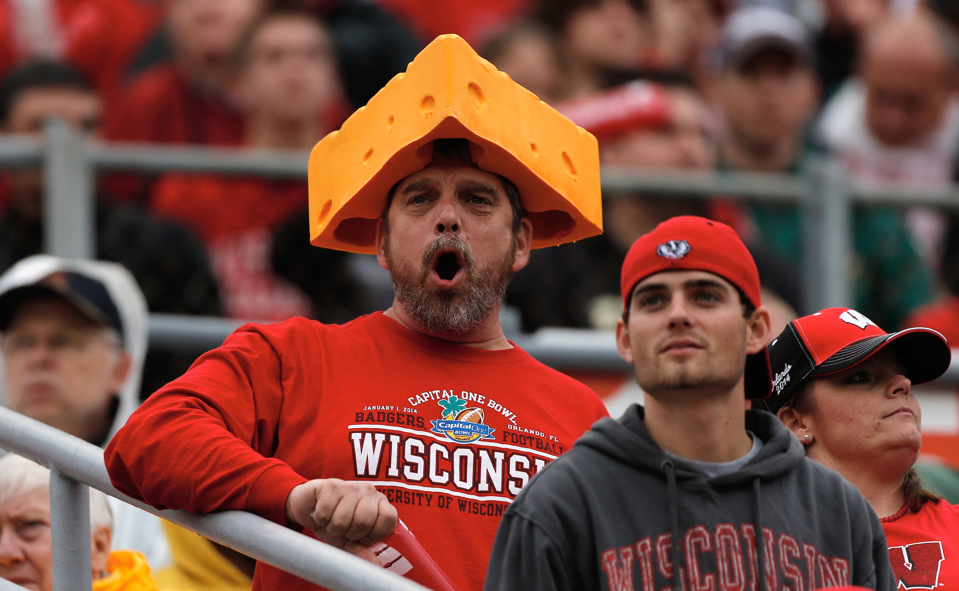 I bet you this guy is watching college football this weekend.