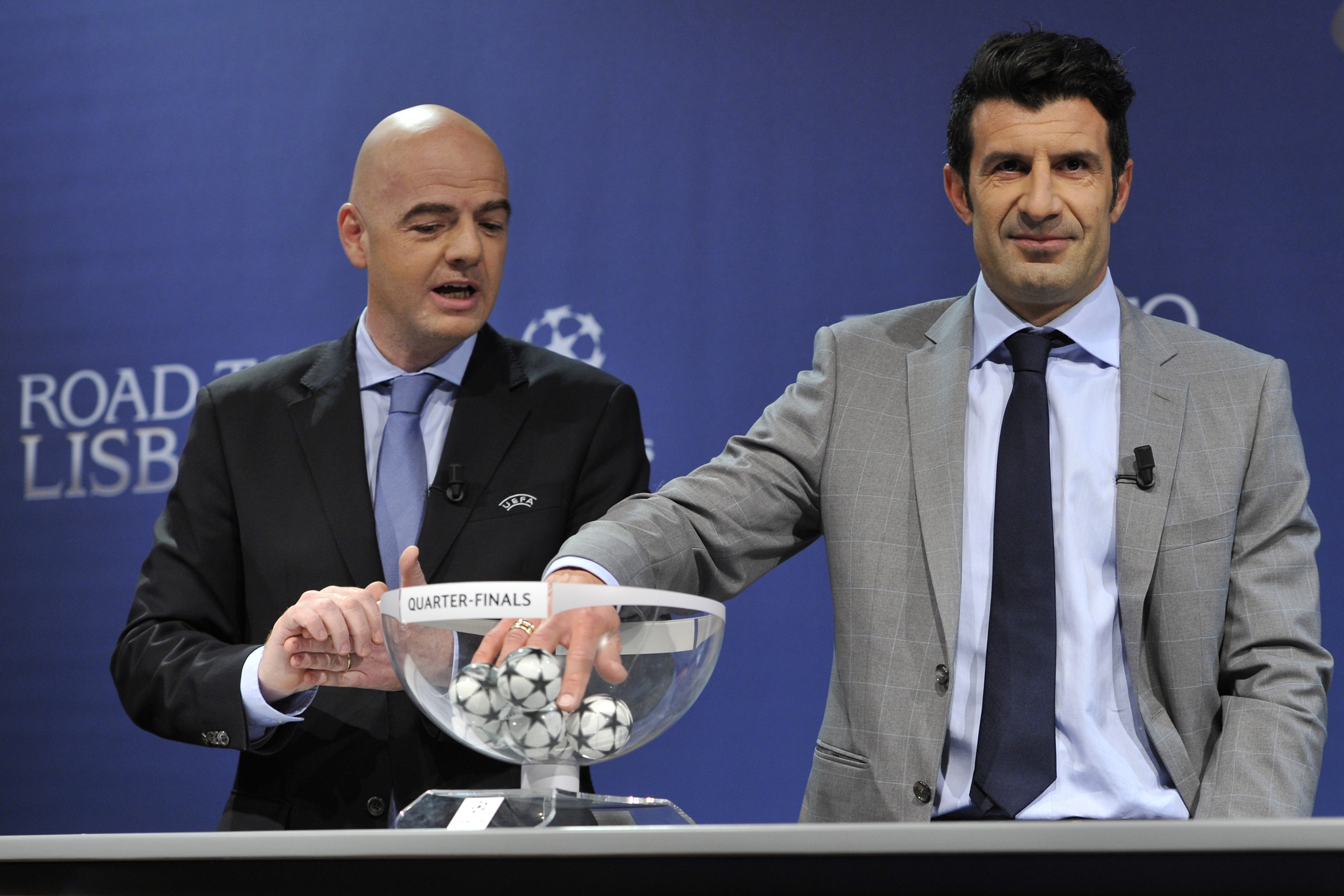 UEFA Champions League group stage draw: Live results