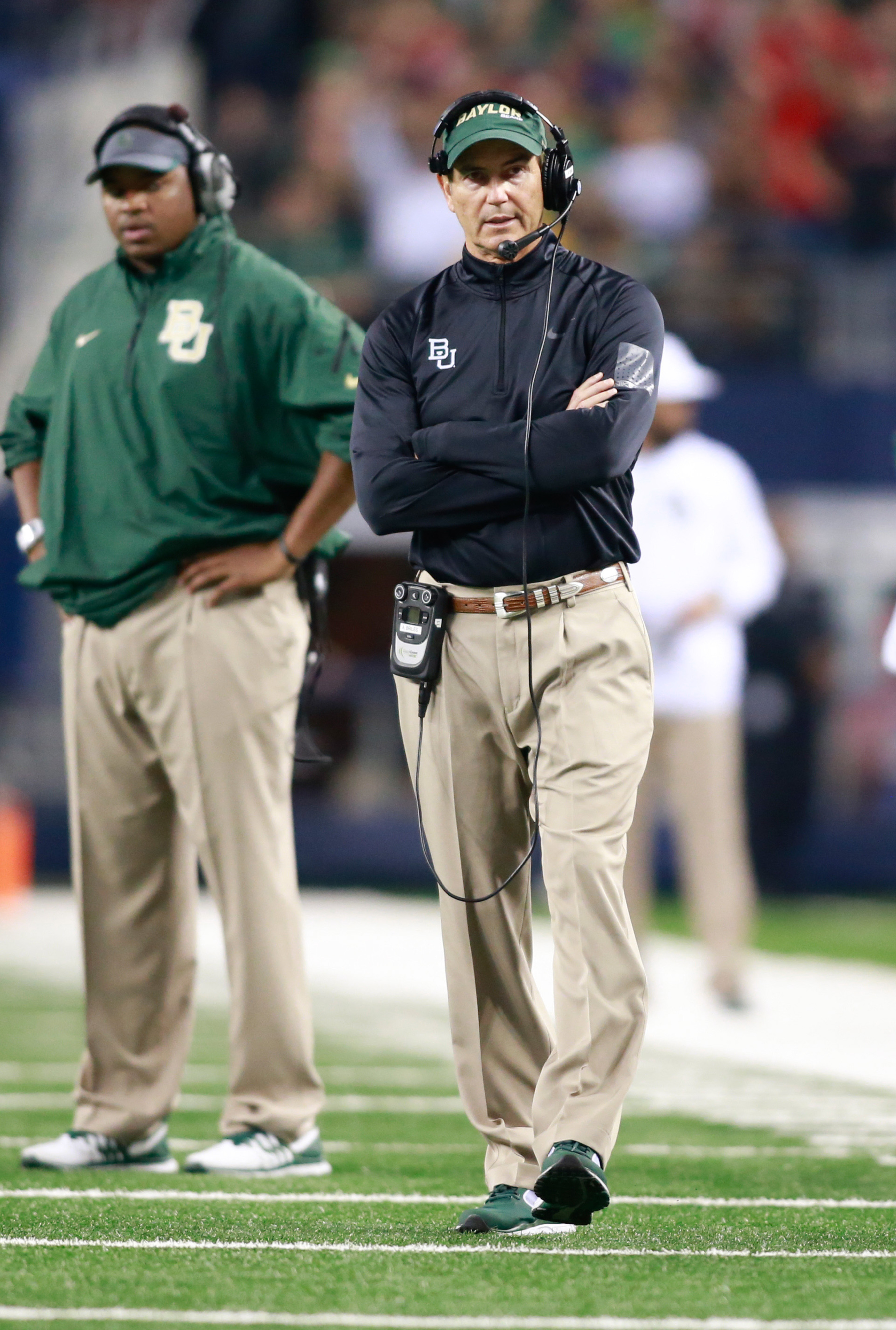 """""""I get pissed when people don't listen to OurDailyPodcast."""" -Art Briles, maybe"""