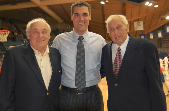 (2011) From left to right: Rollie Massimino, Jay Wright and Jack Kraft
