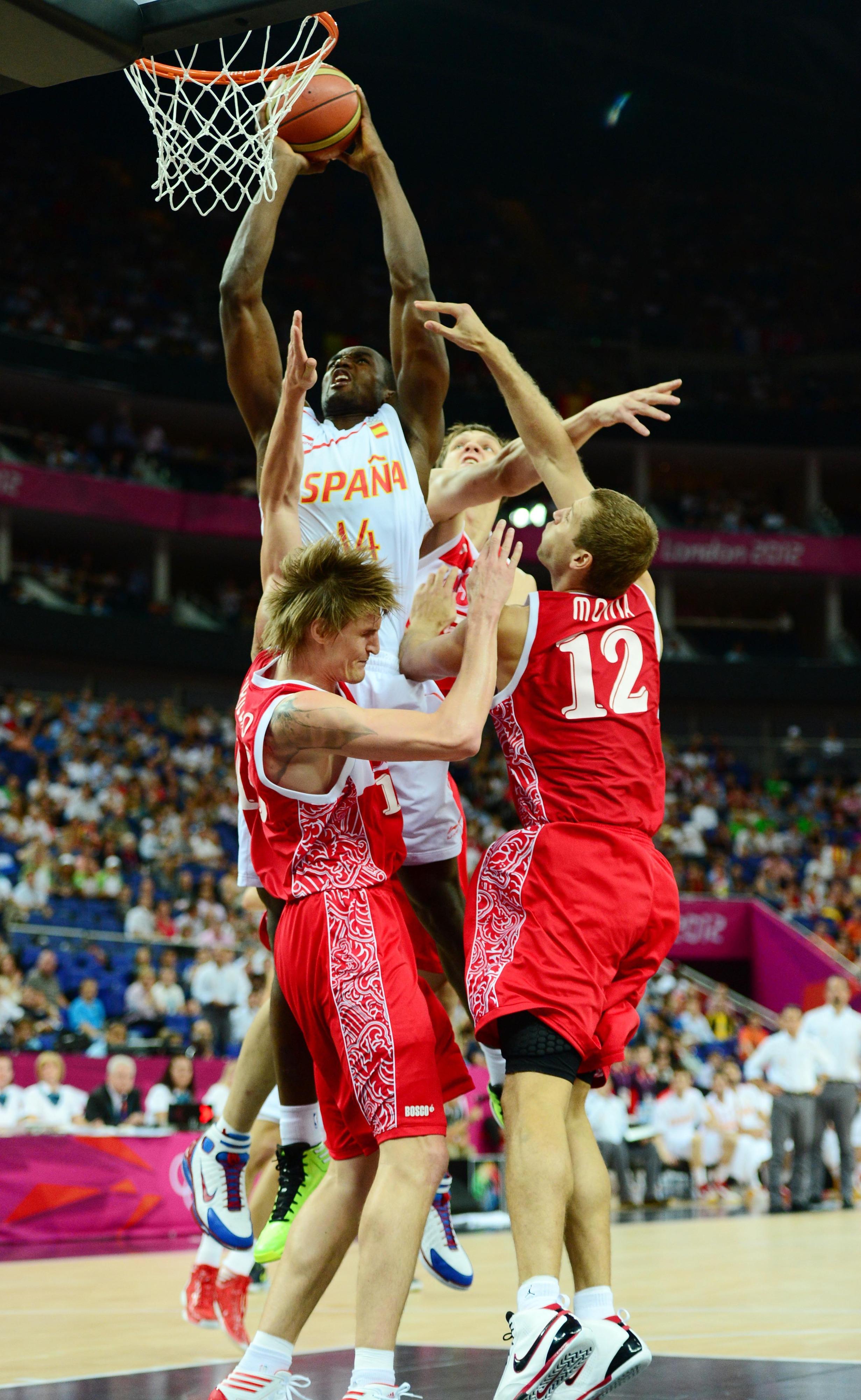 The lean, mean, dunking machine.