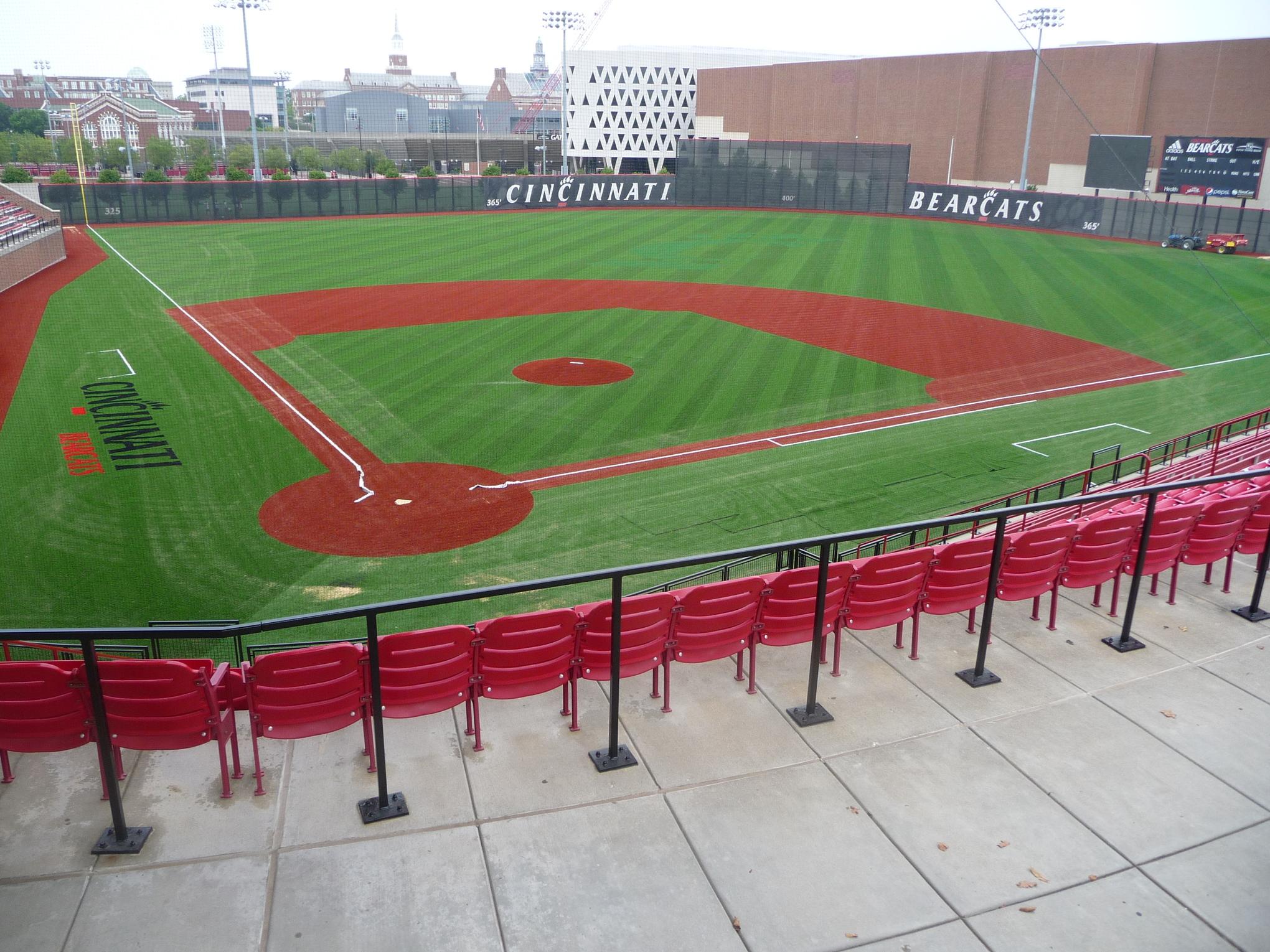 Schott Stadium turf installation