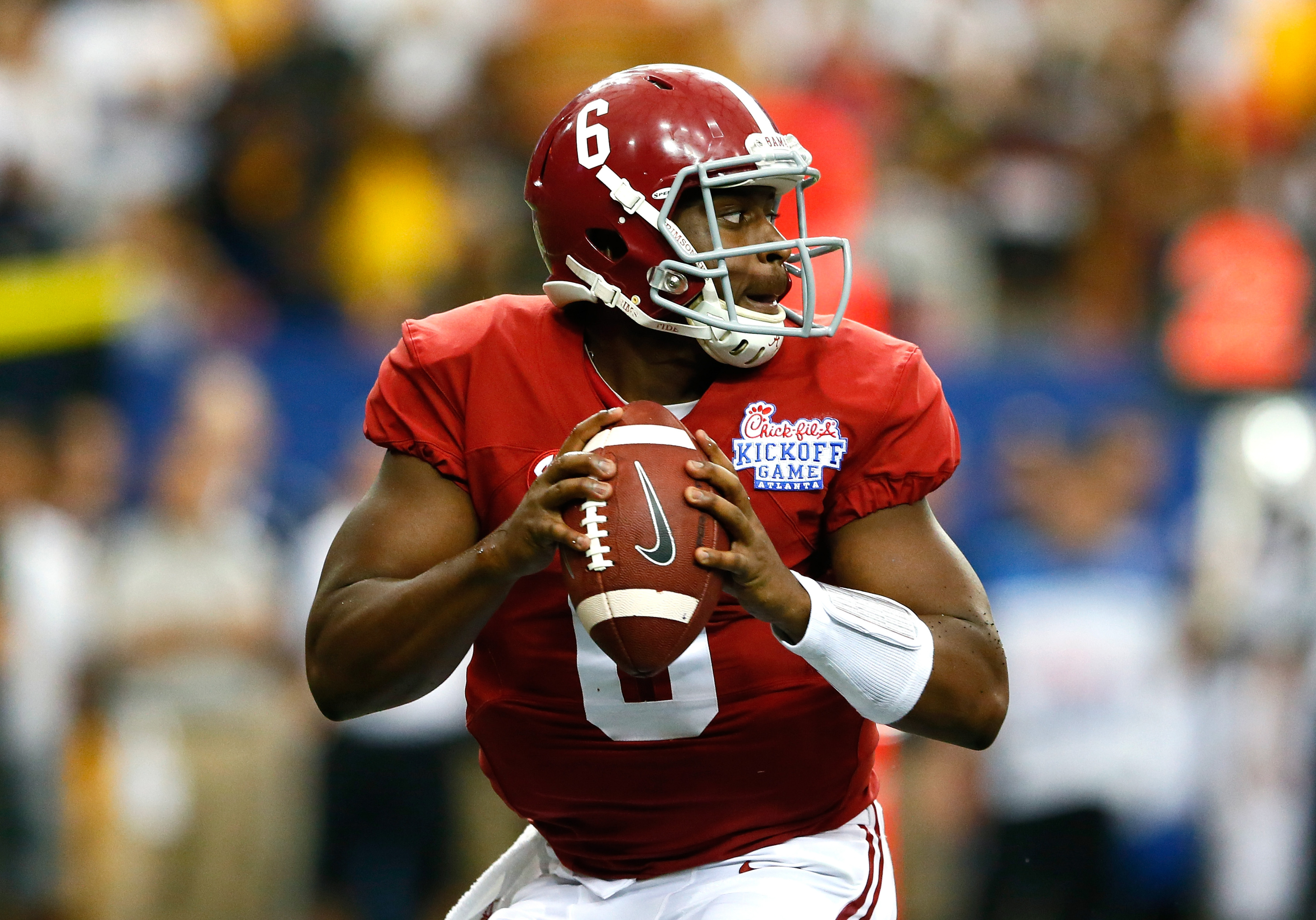 Blake Sims gets the win in his first Bama start