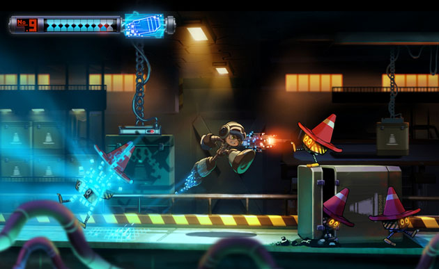 Where old school meets new school in Mighty No.9