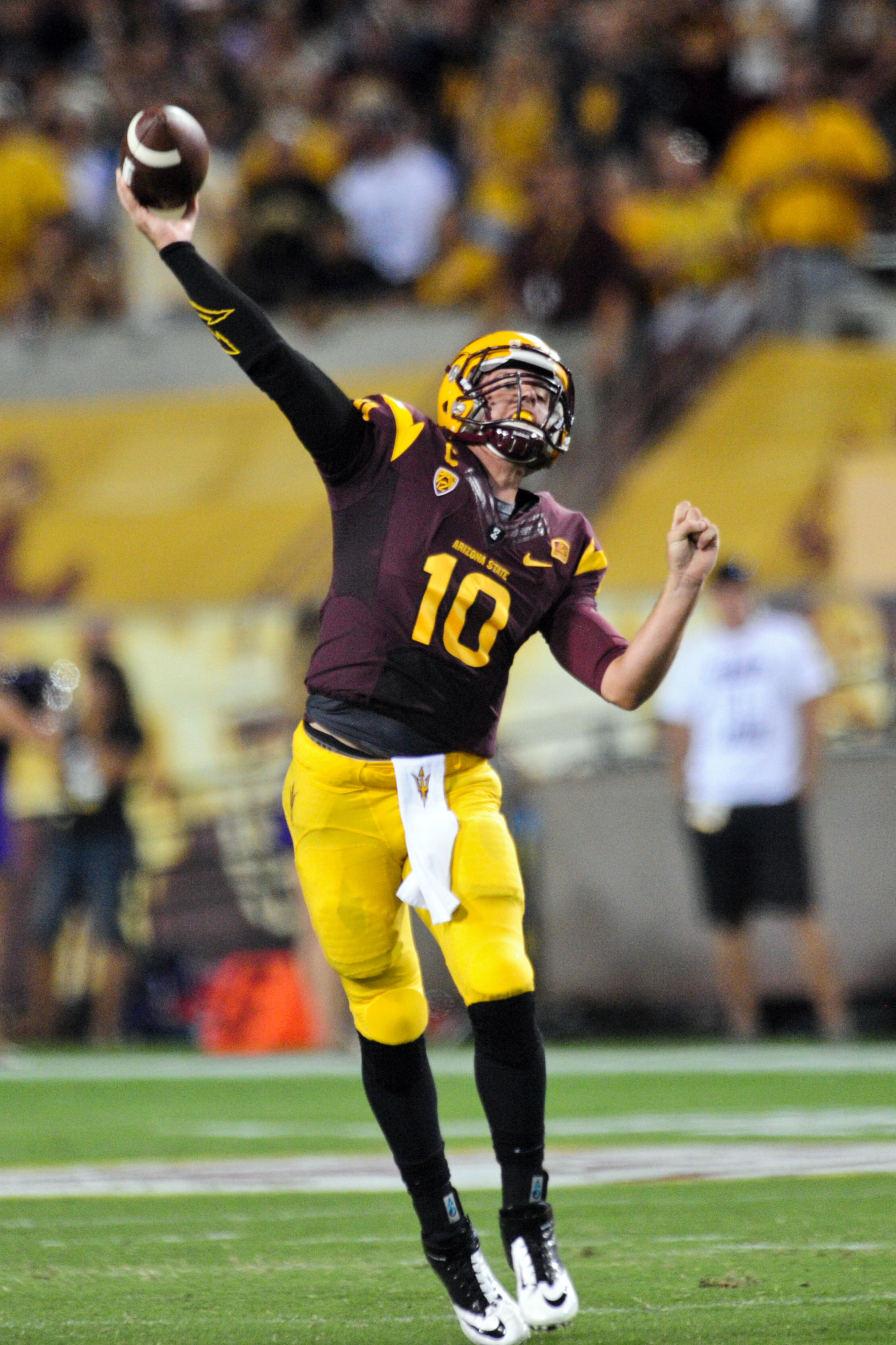 The Utah defense will be forced to account for ASU quarterback Taylor Kelly both running and passing.