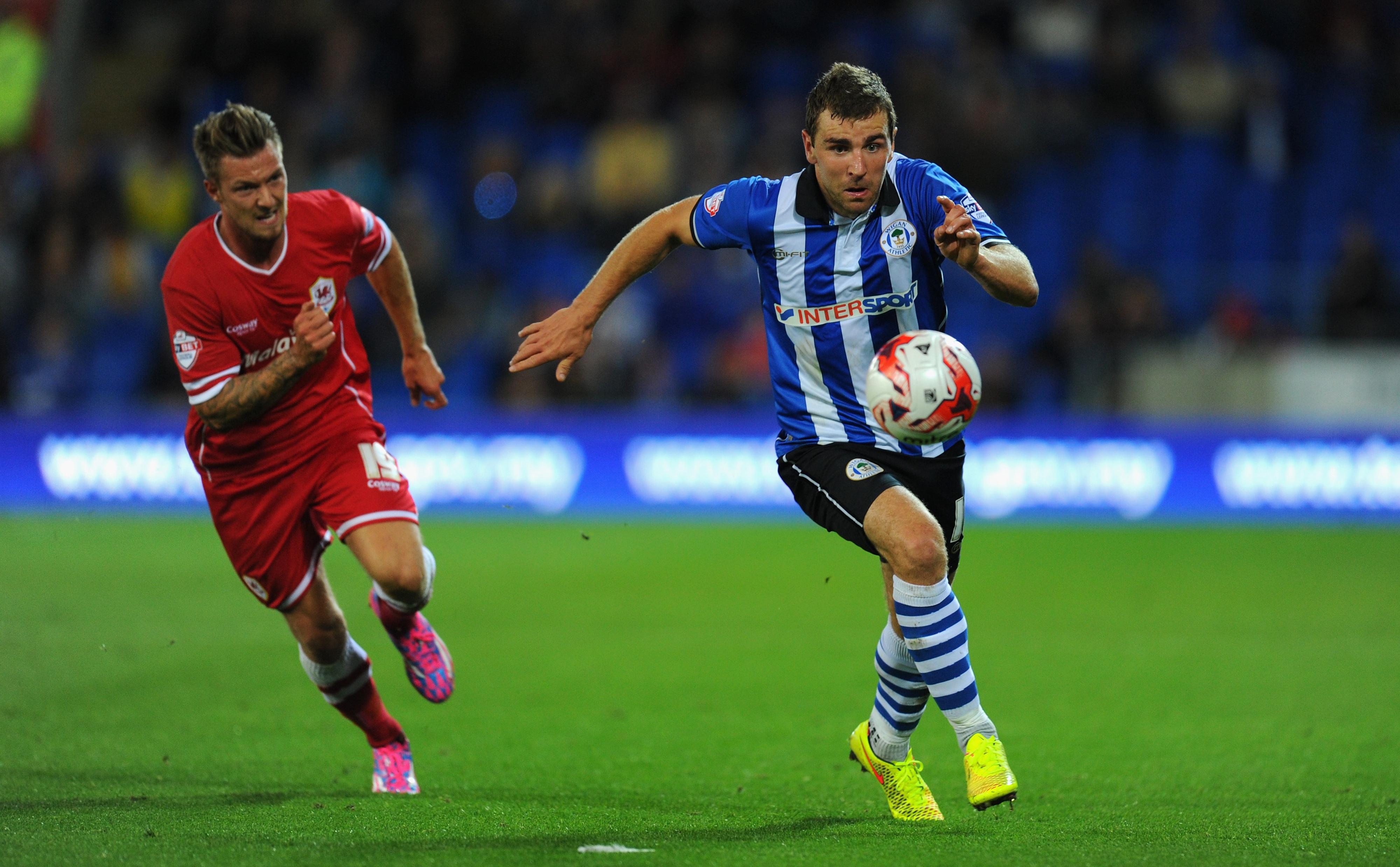 James shone in his last Wigan game.