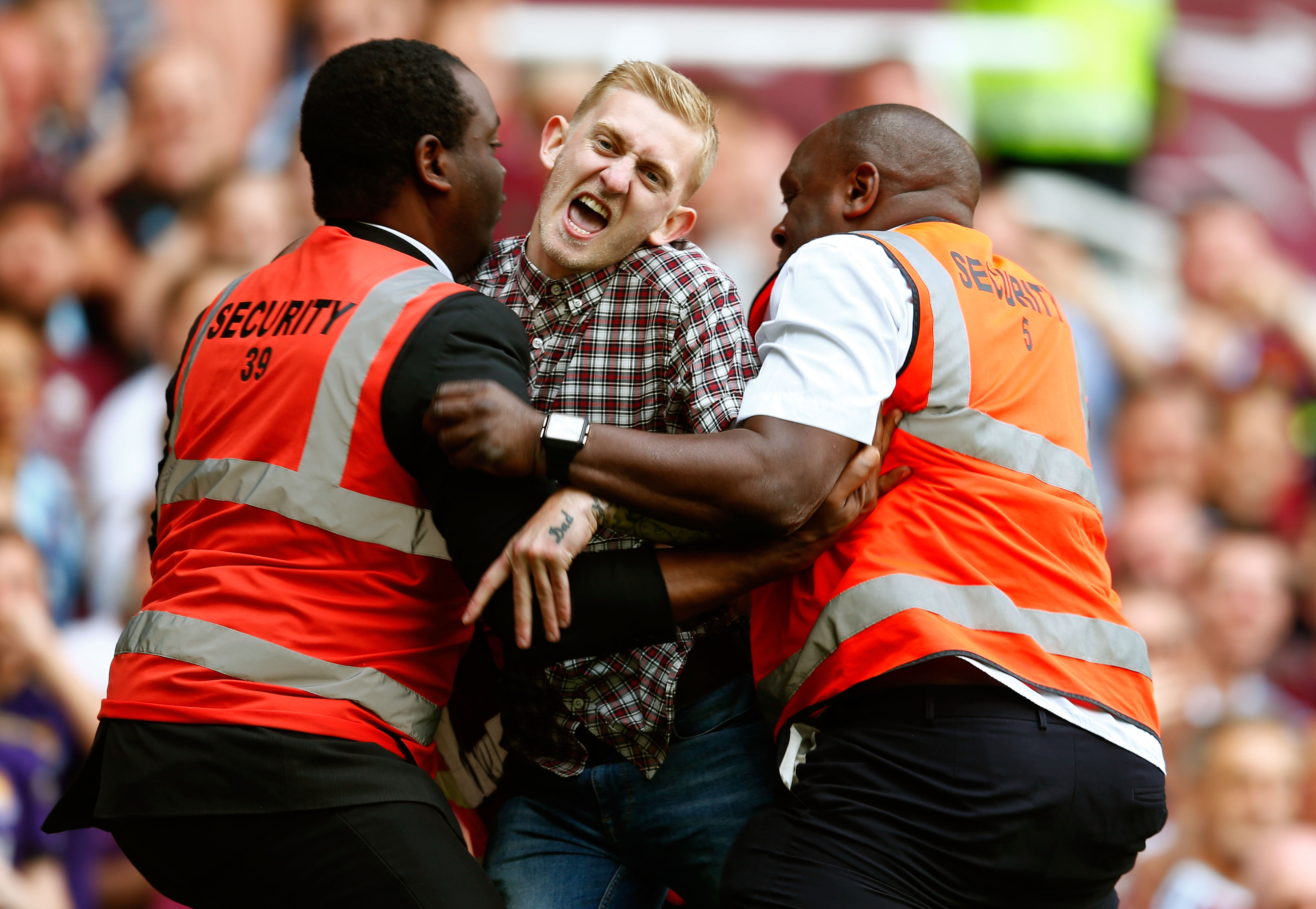 Pitch invader who took free kick crowdfunds fine