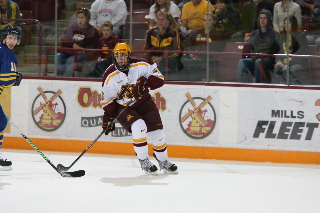University of Minnesota forward Christian Isackson