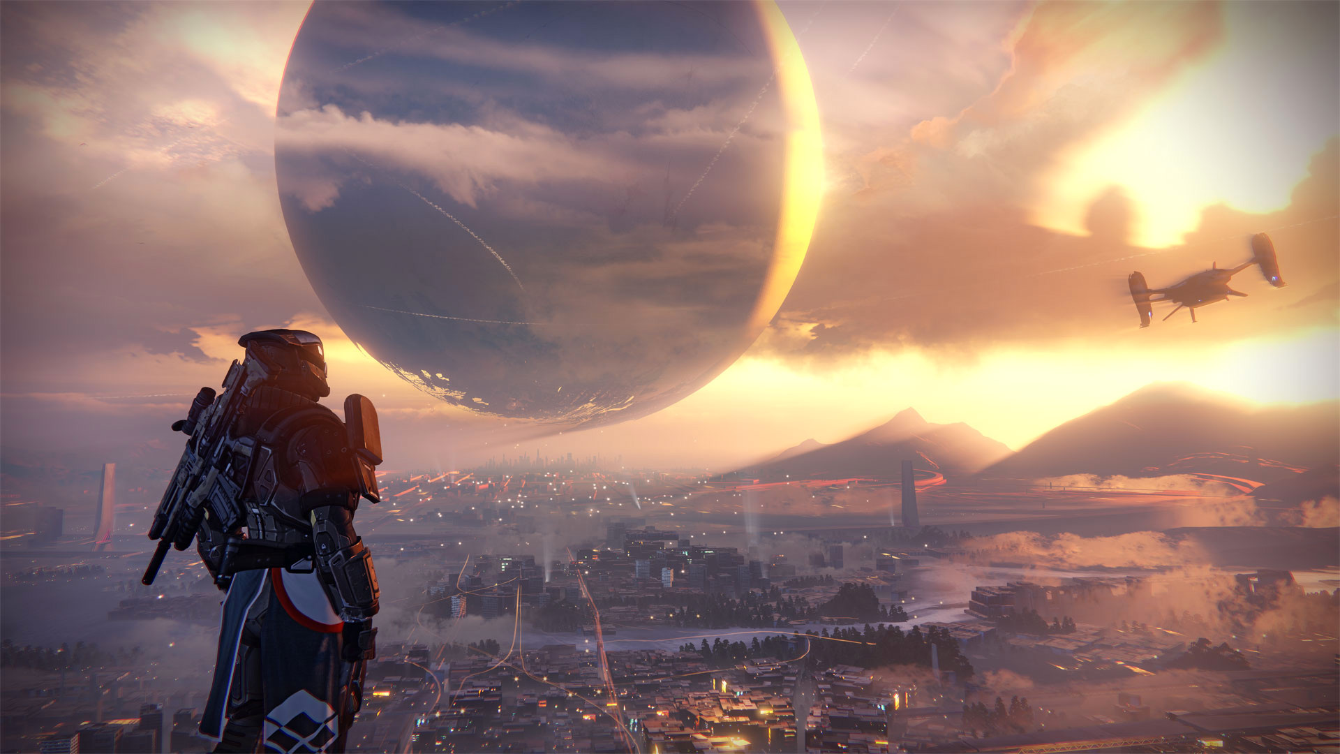 Destiny's Vita-specific controls allow you to play from bed with ease