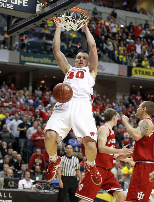 Jared Berggren's career night was not enough against the Bluejays.