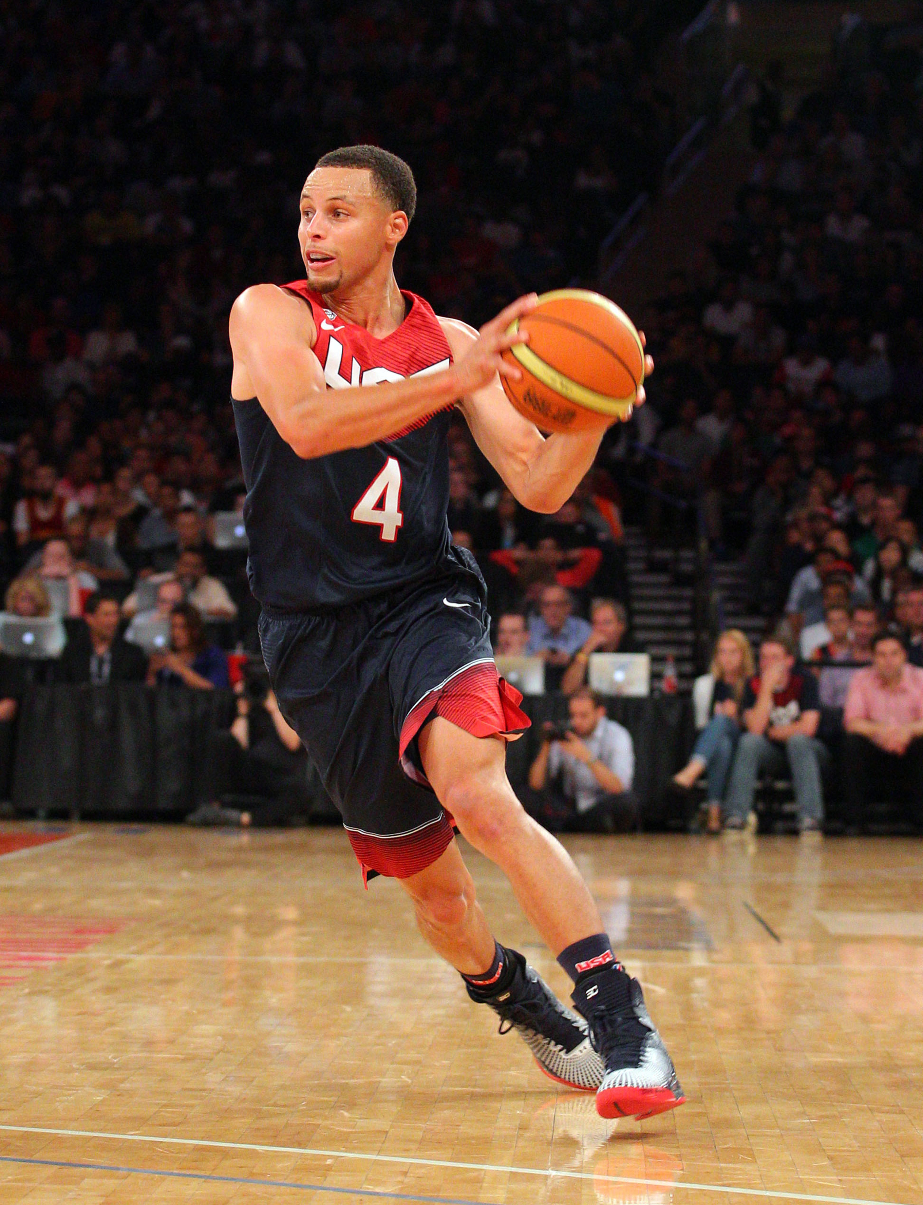 USA vs. Mexico final score: Stephen Curry takes over in 86-63 victory