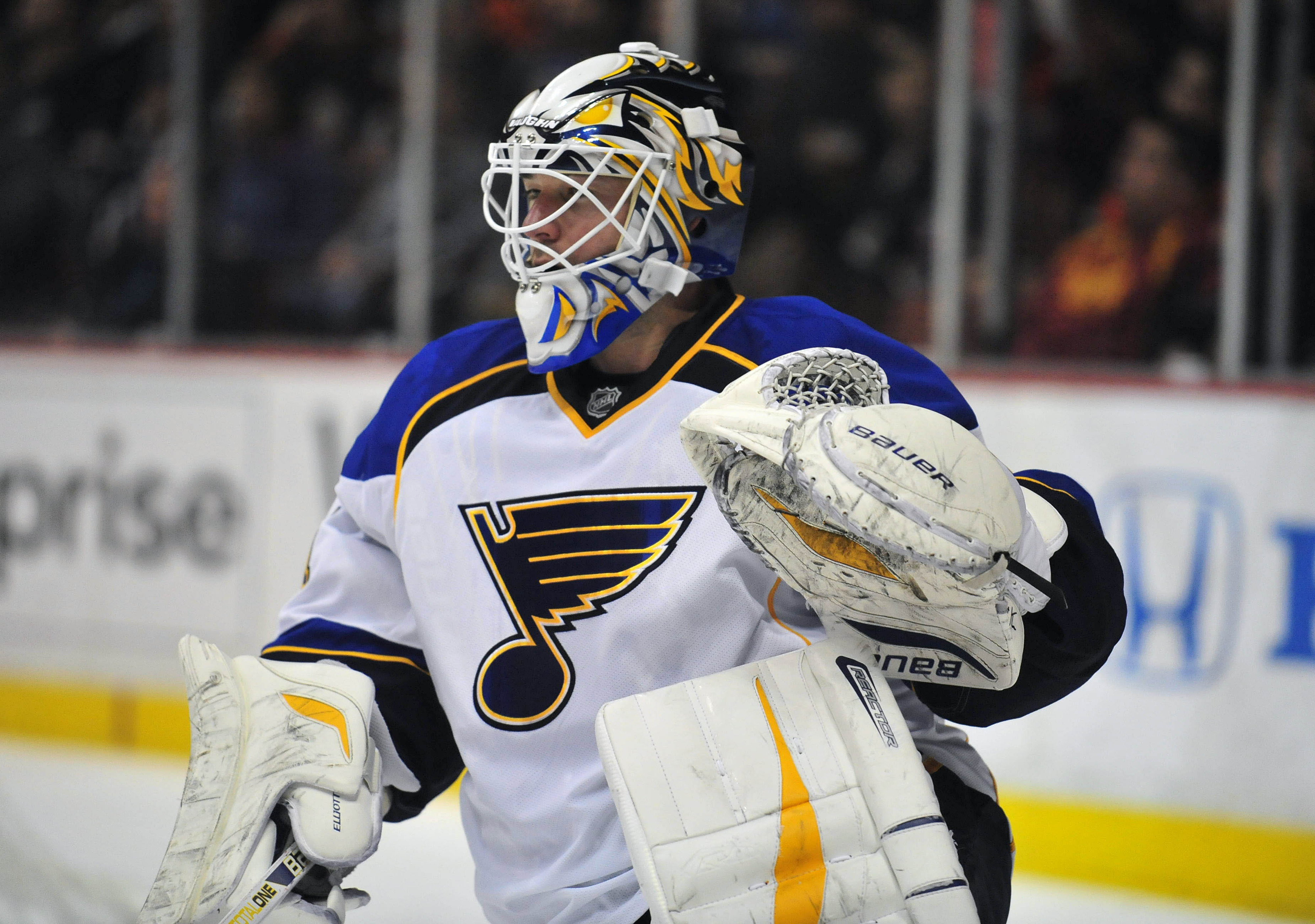 Brian Elliott has something in common with Connor McDavid
