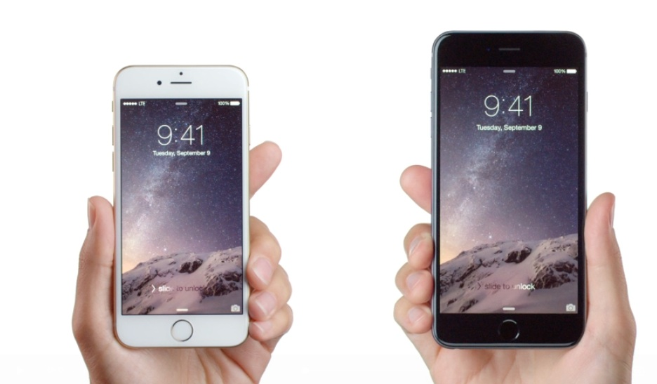 Apple unveils two new, bigger iPhones — the iPhone 6 and the iPhone 6 Plus