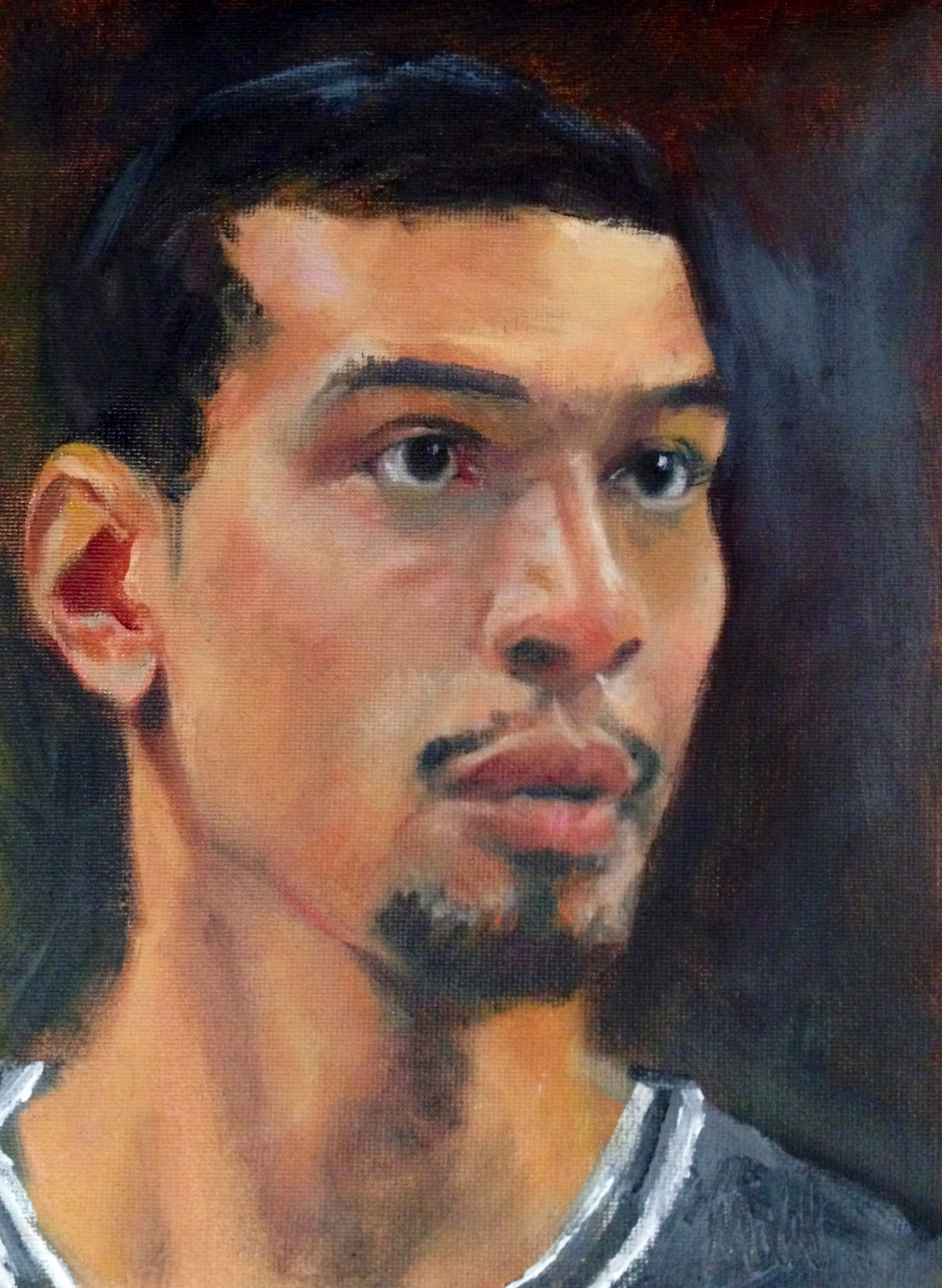 Danny Green - oil on canvas