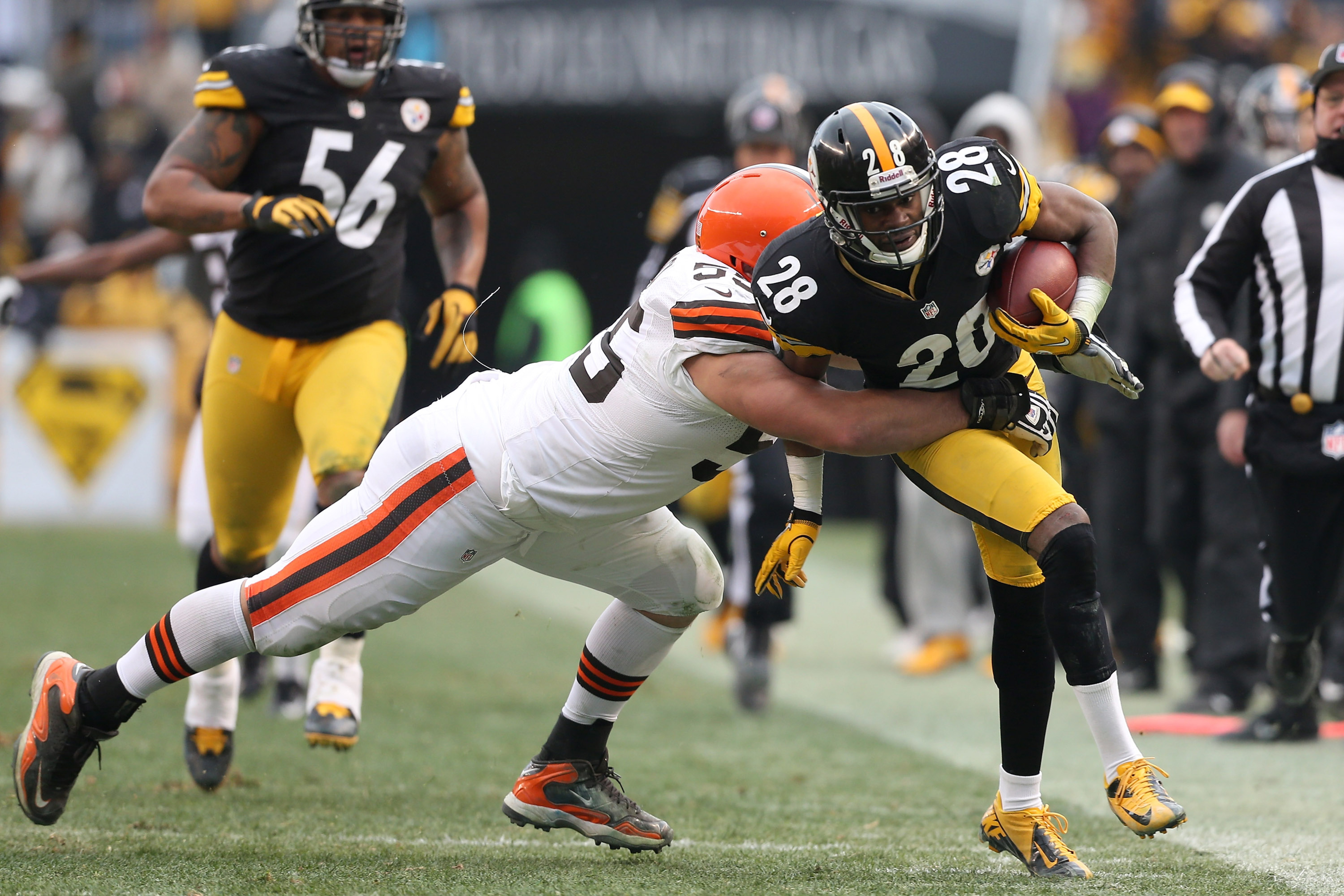"""Cortez Allen almost had an interception vs. Cleveland, in a game filled with """"almosts."""""""