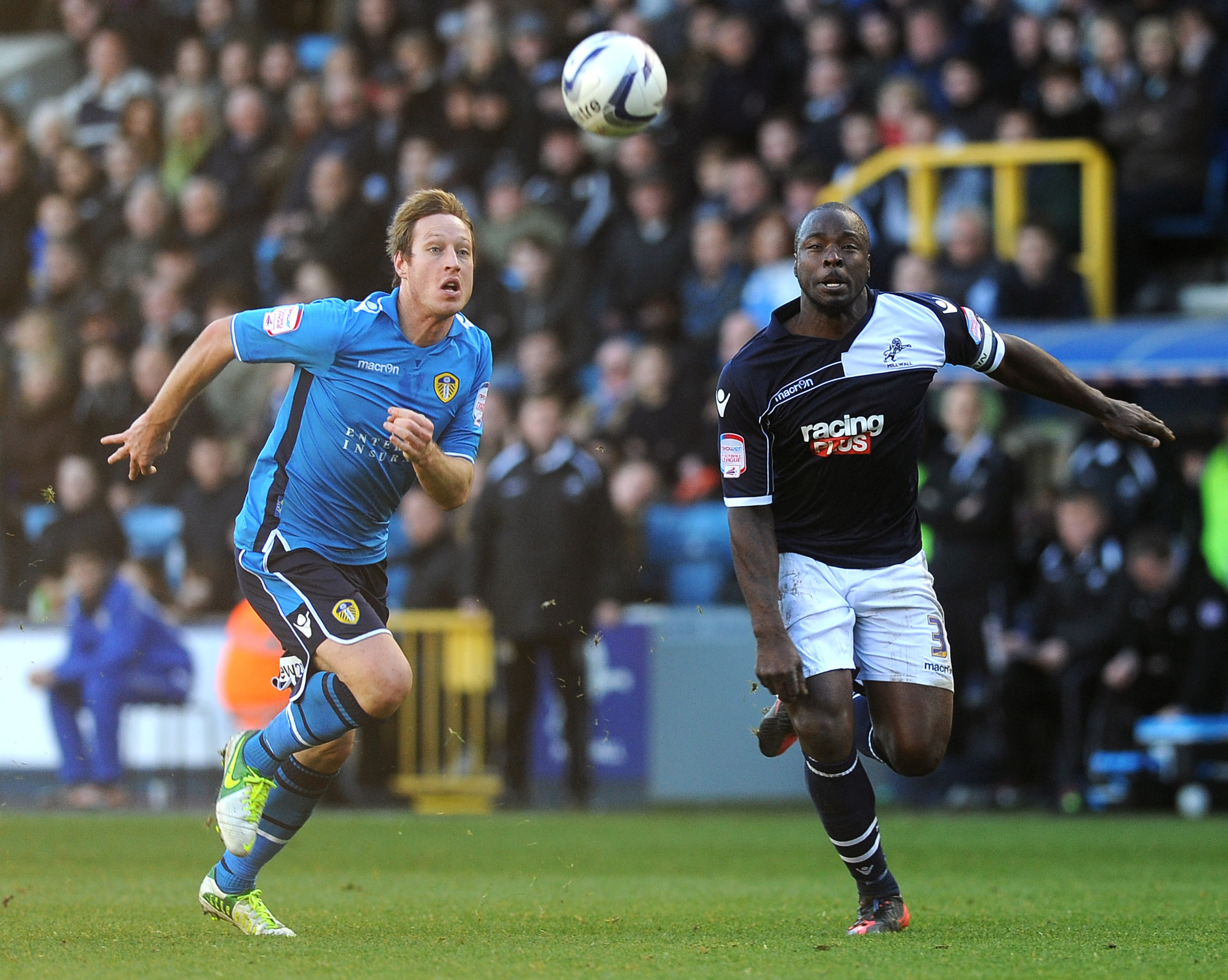 Luciano Becchio was back on the goal trail during Leeds United's win over Crystal Palace.