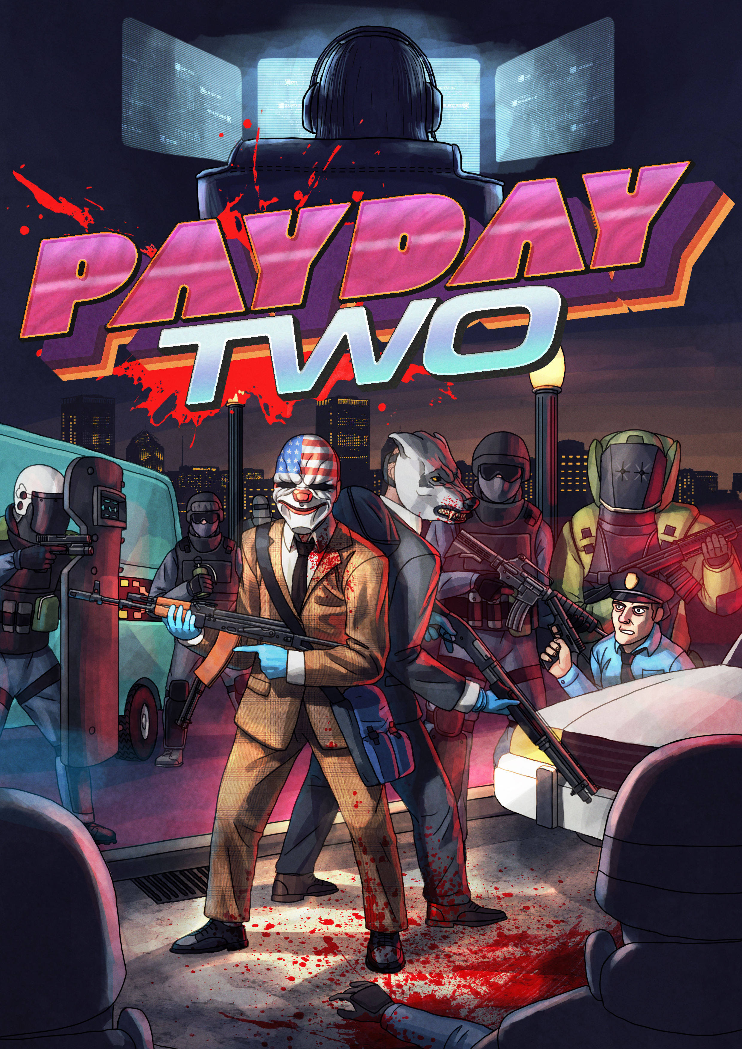 Hotline Miami is coming to Payday 2 later this month